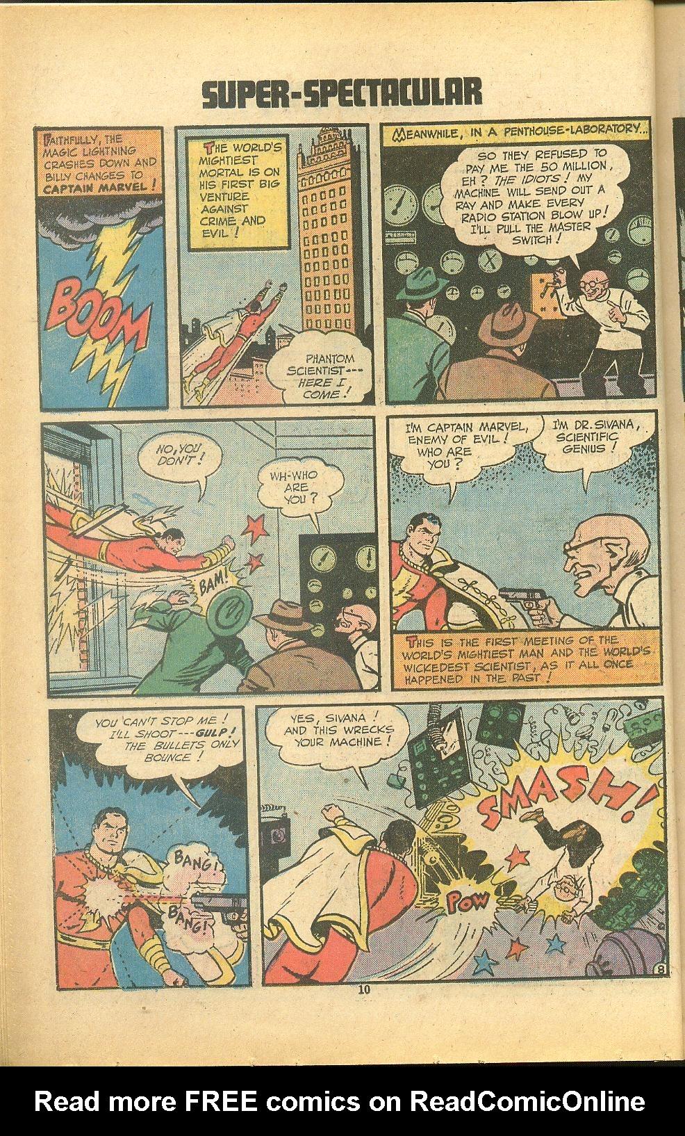 Read online Shazam! (1973) comic -  Issue #8 - 10