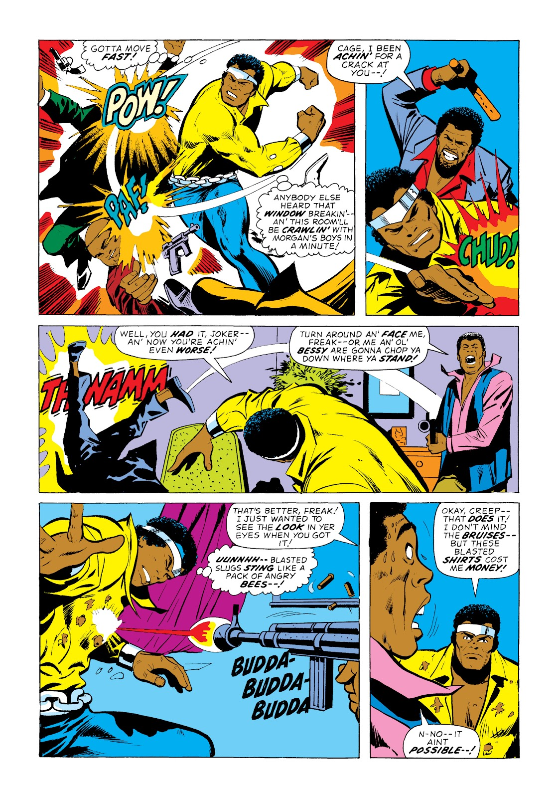 Read online Marvel Masterworks: Luke Cage, Power Man comic -  Issue # TPB 2 (Part 1) - 65