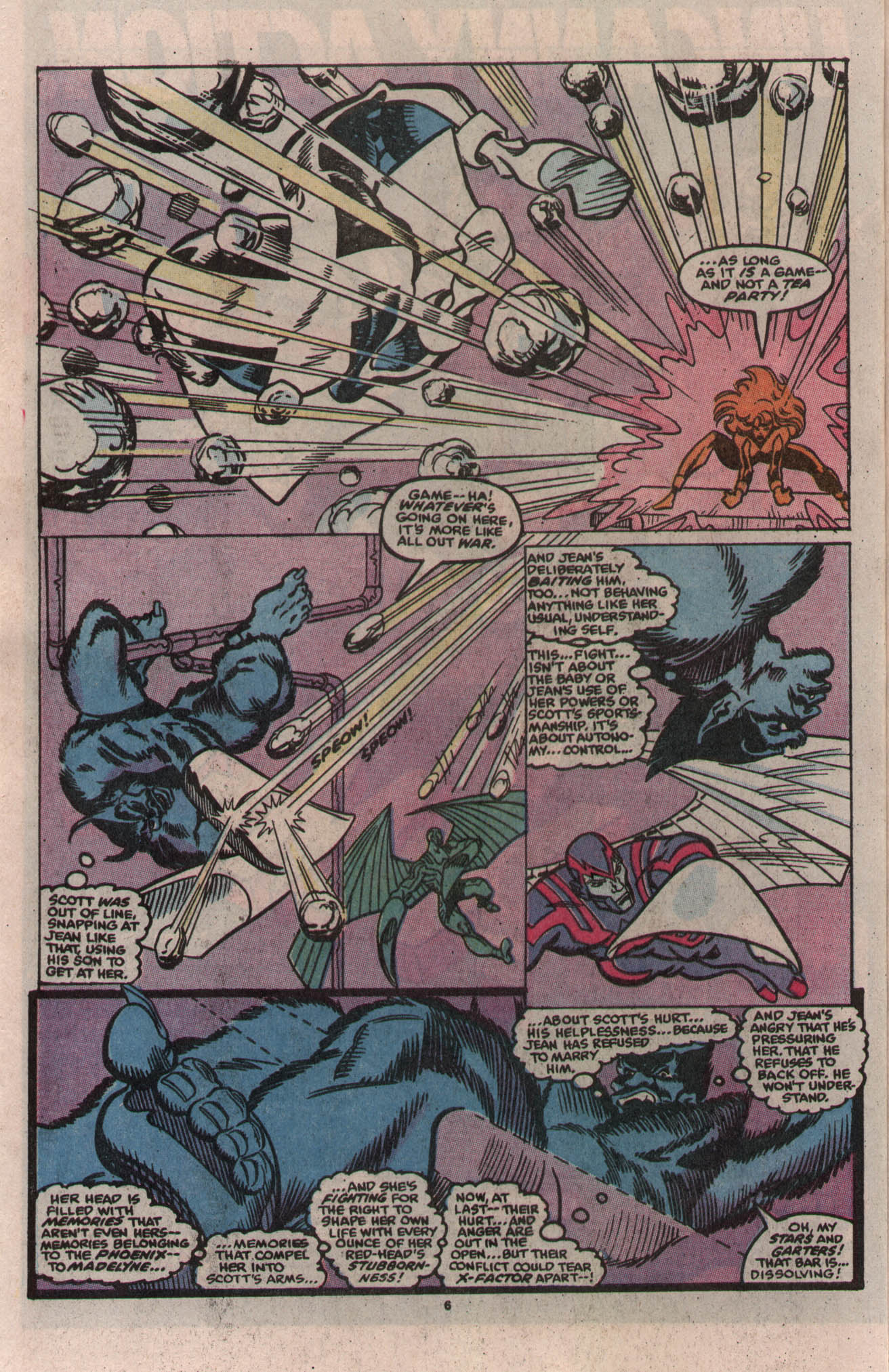 Read online X-Factor (1986) comic -  Issue # _ Annual 5 - 6