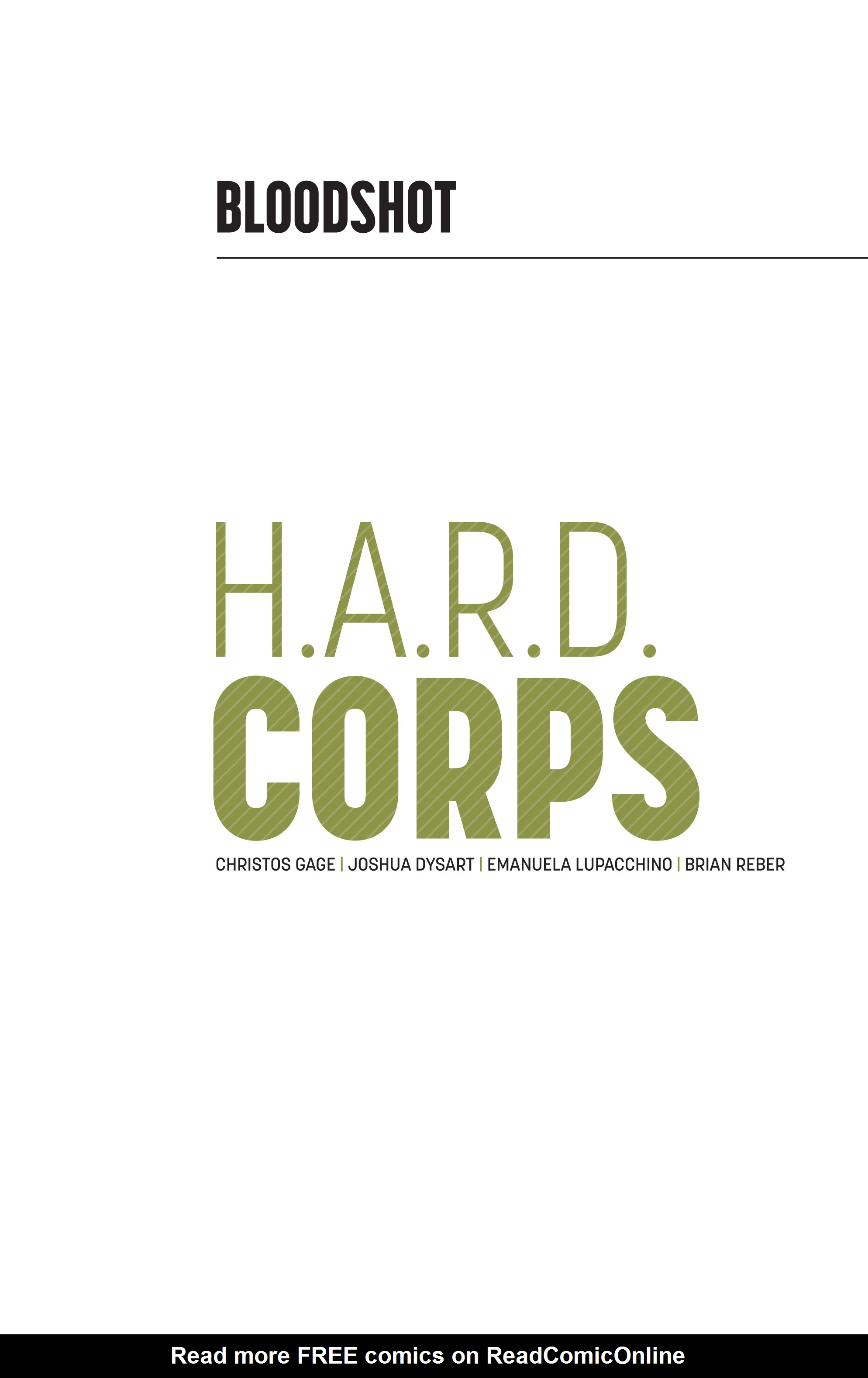Read online Bloodshot and H.A.R.D.Corps comic -  Issue # TPB 4 - 2