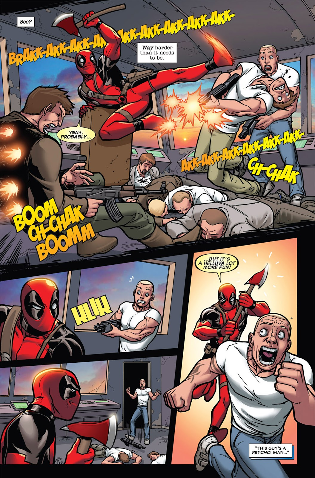 Read online Deadpool (2008) comic -  Issue #45 - 13