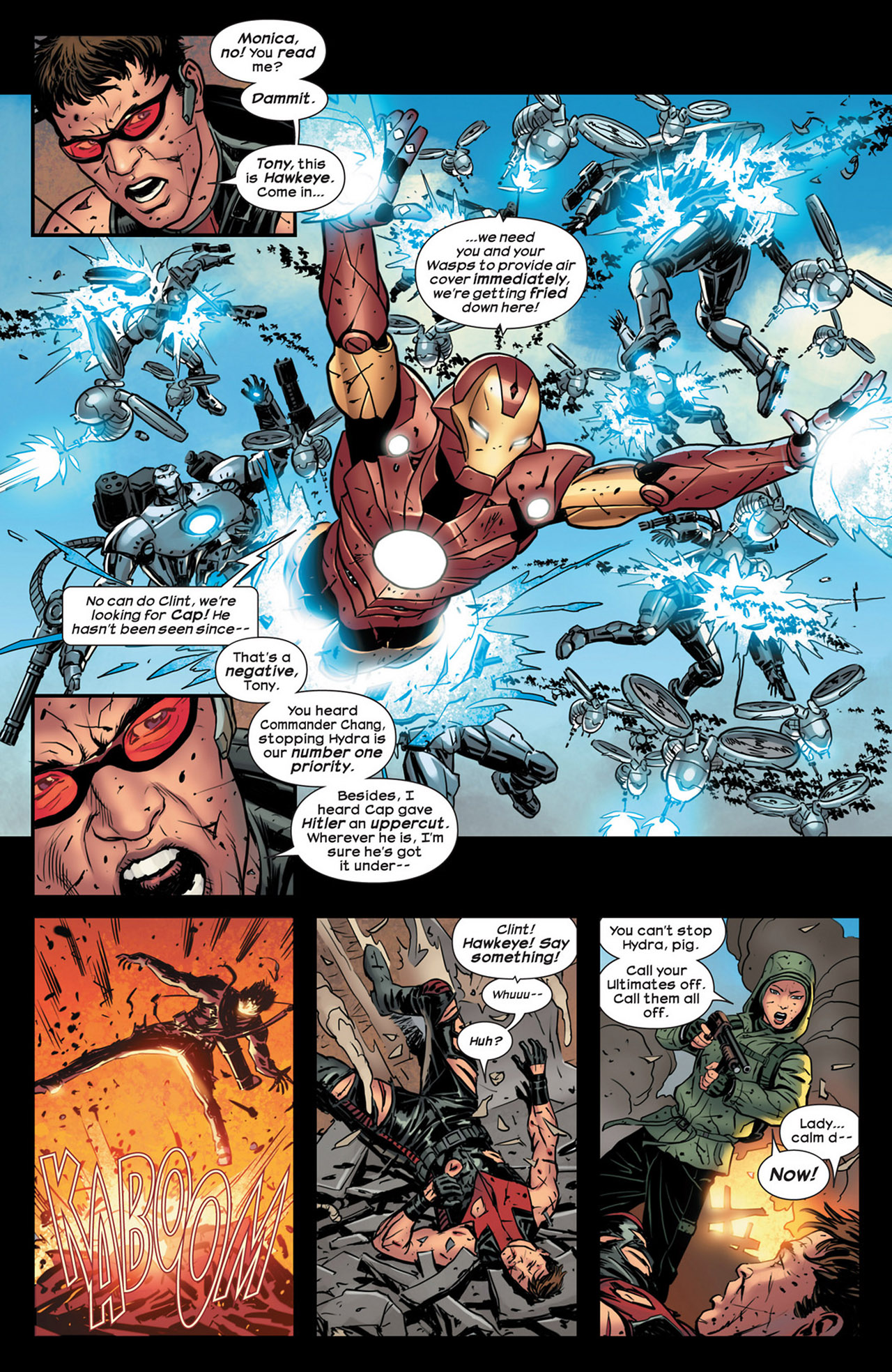 Read online Ultimate Comics Ultimates comic -  Issue #18 - 10