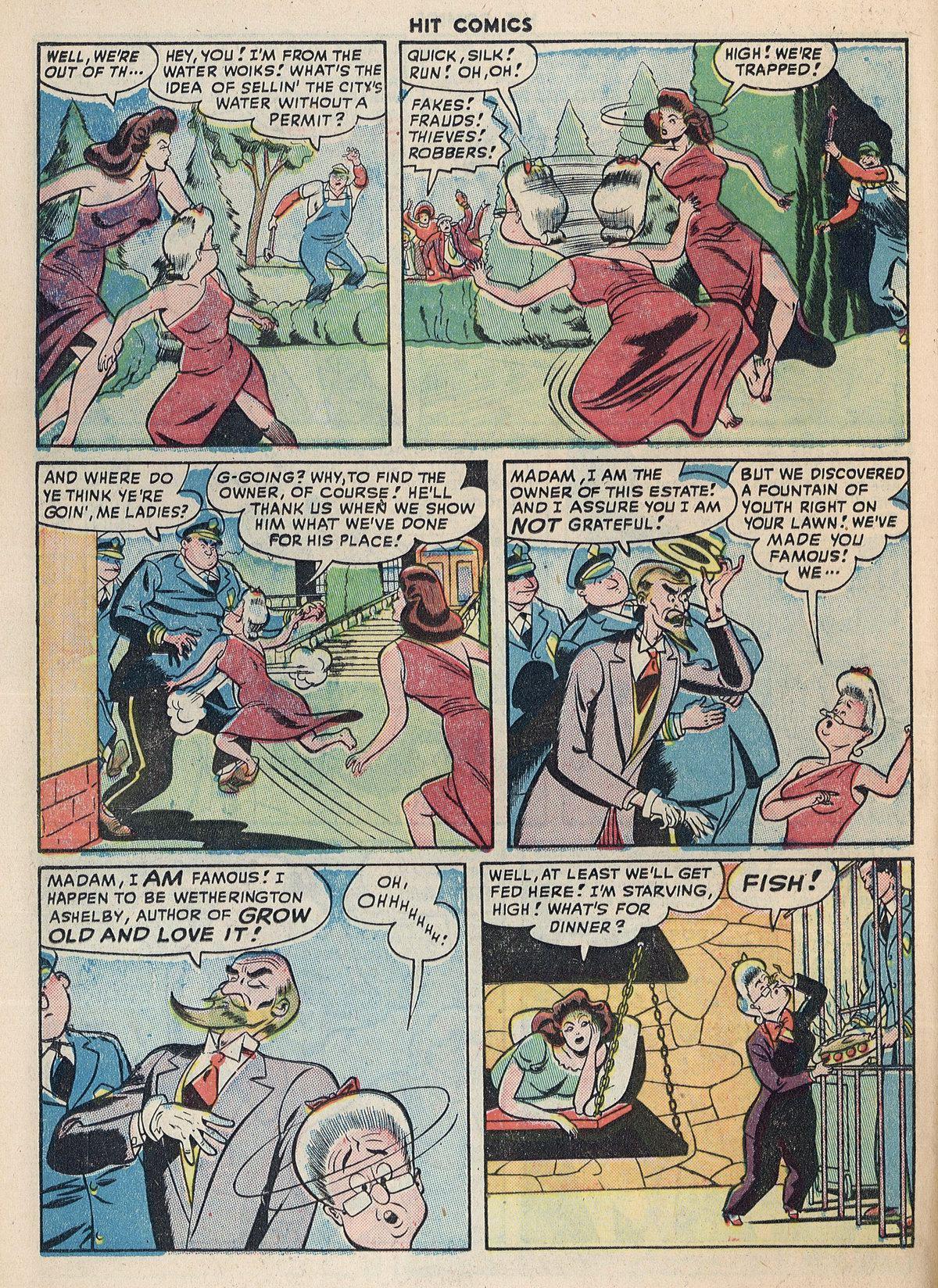 Read online Hit Comics comic -  Issue #55 - 20