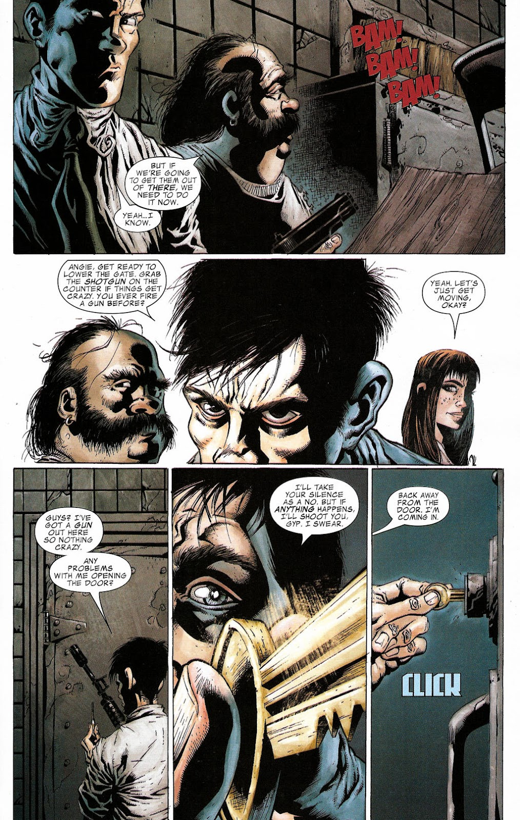 Read online Zombie (2006) comic -  Issue #2 - 16