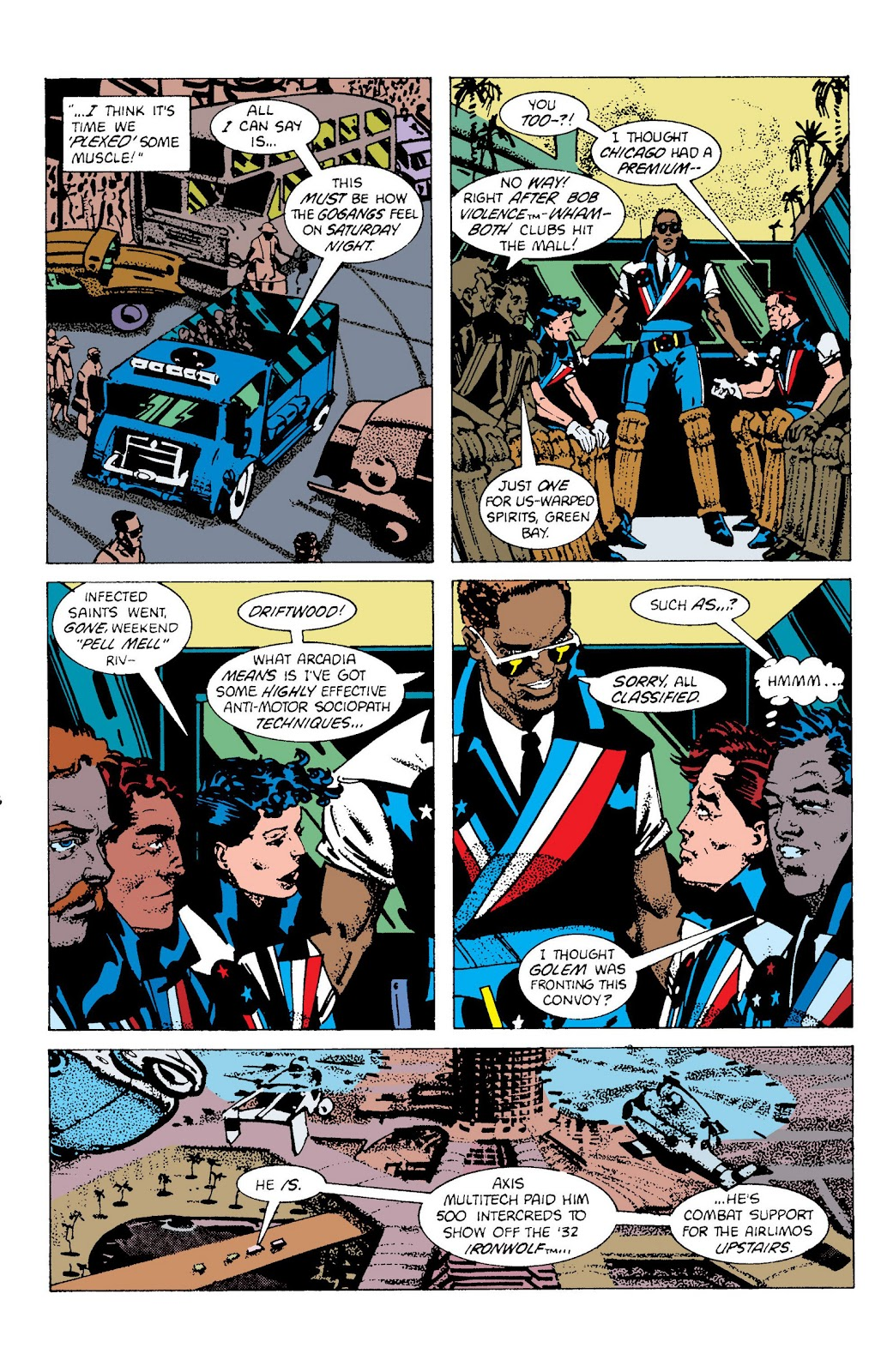 American Flagg! issue Definitive Collection (Part 2) - Page 64