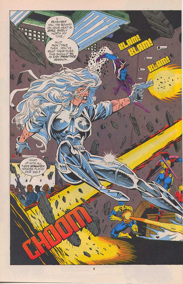 Read online Silver Sable and the Wild Pack comic -  Issue #22 - 3