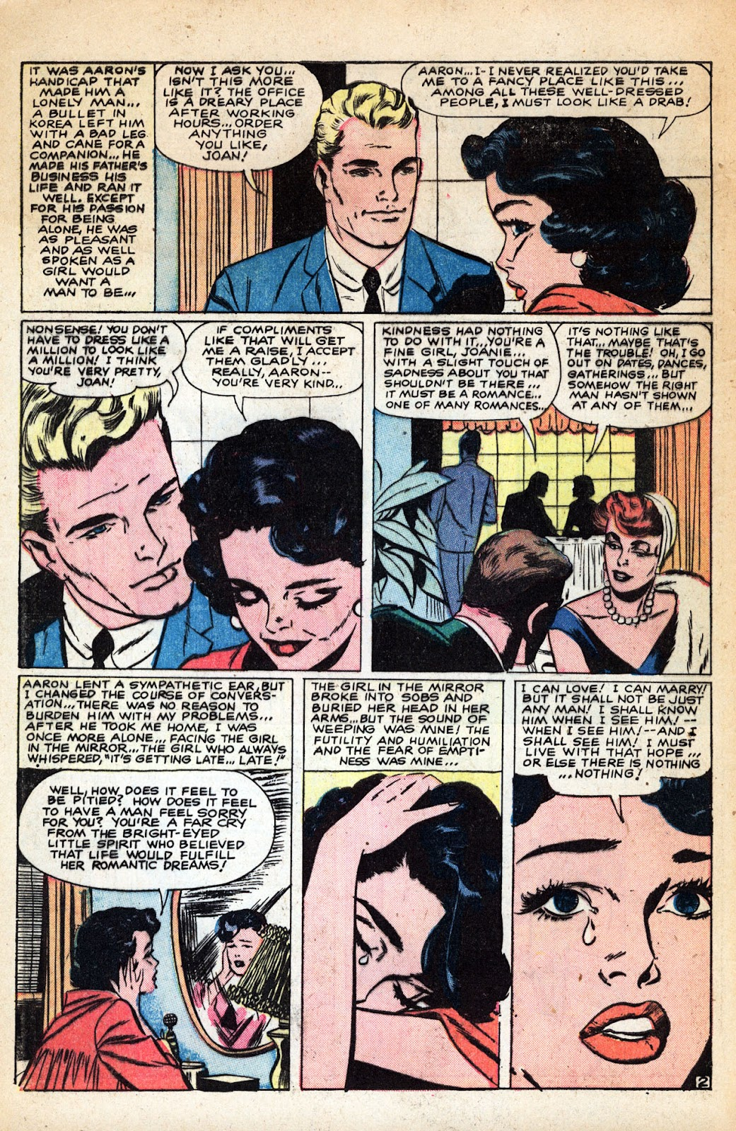 Love Romances (1949) issue 83 - Page 4