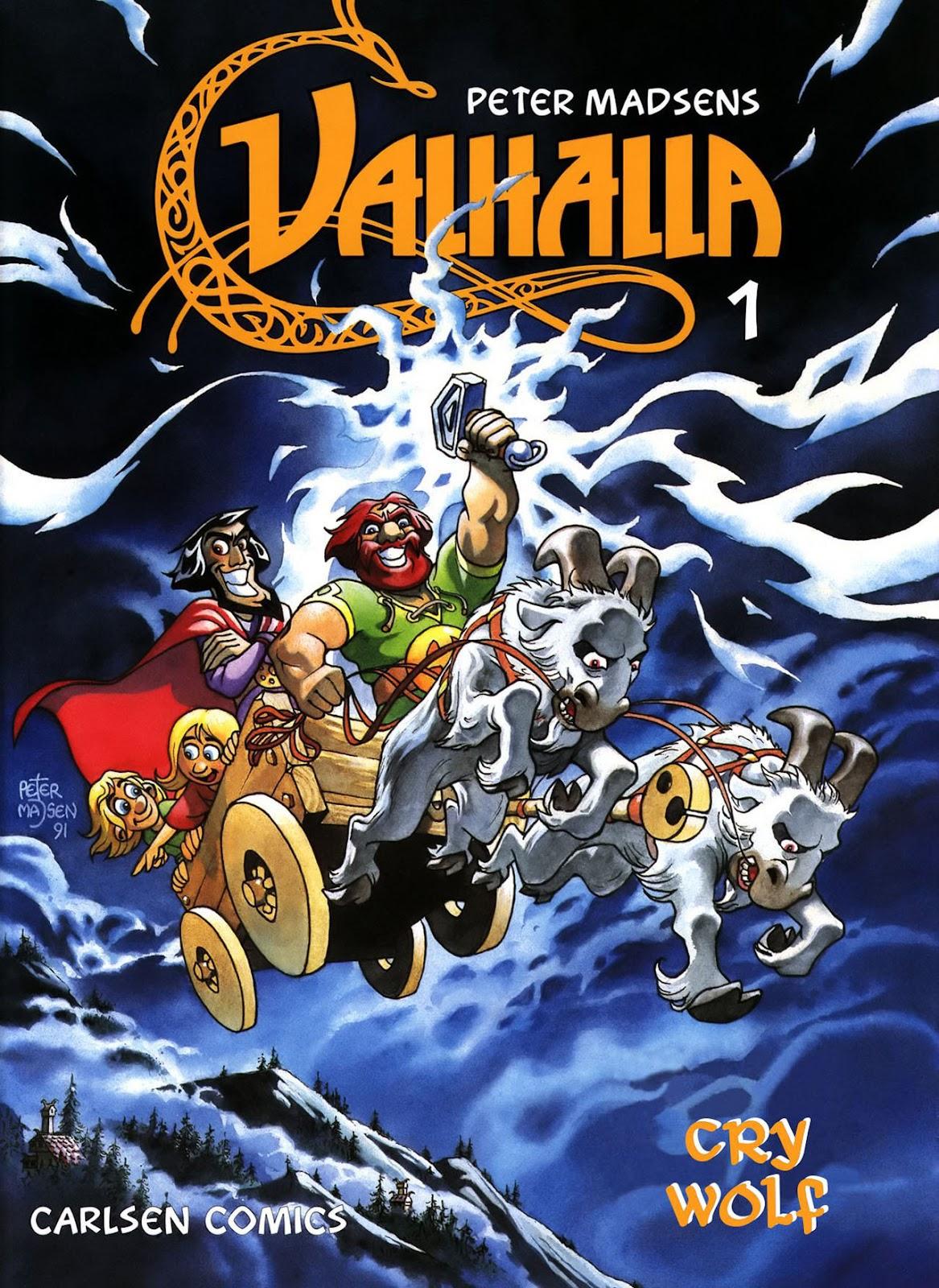 Valhalla issue 1 - Page 1