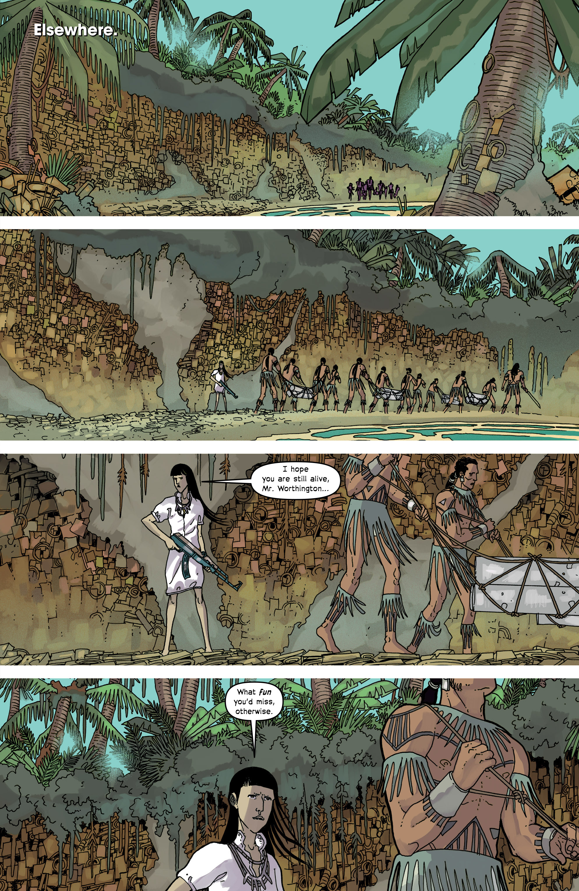 Read online Great Pacific comic -  Issue #17 - 11