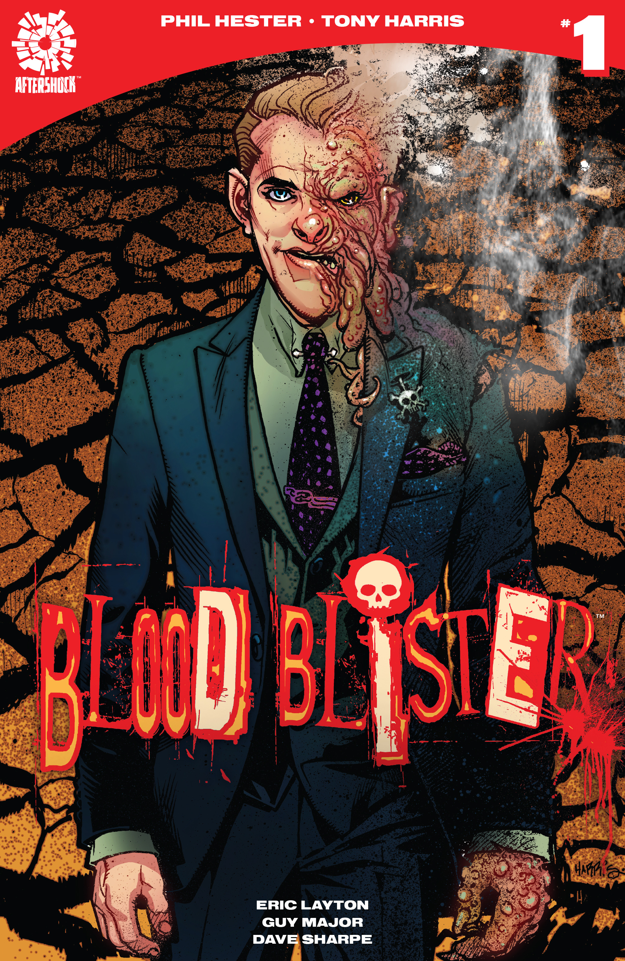 Read online Blood Blister comic -  Issue #1 - 1