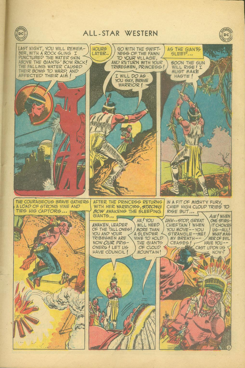 Read online All-Star Western (1951) comic -  Issue #65 - 31