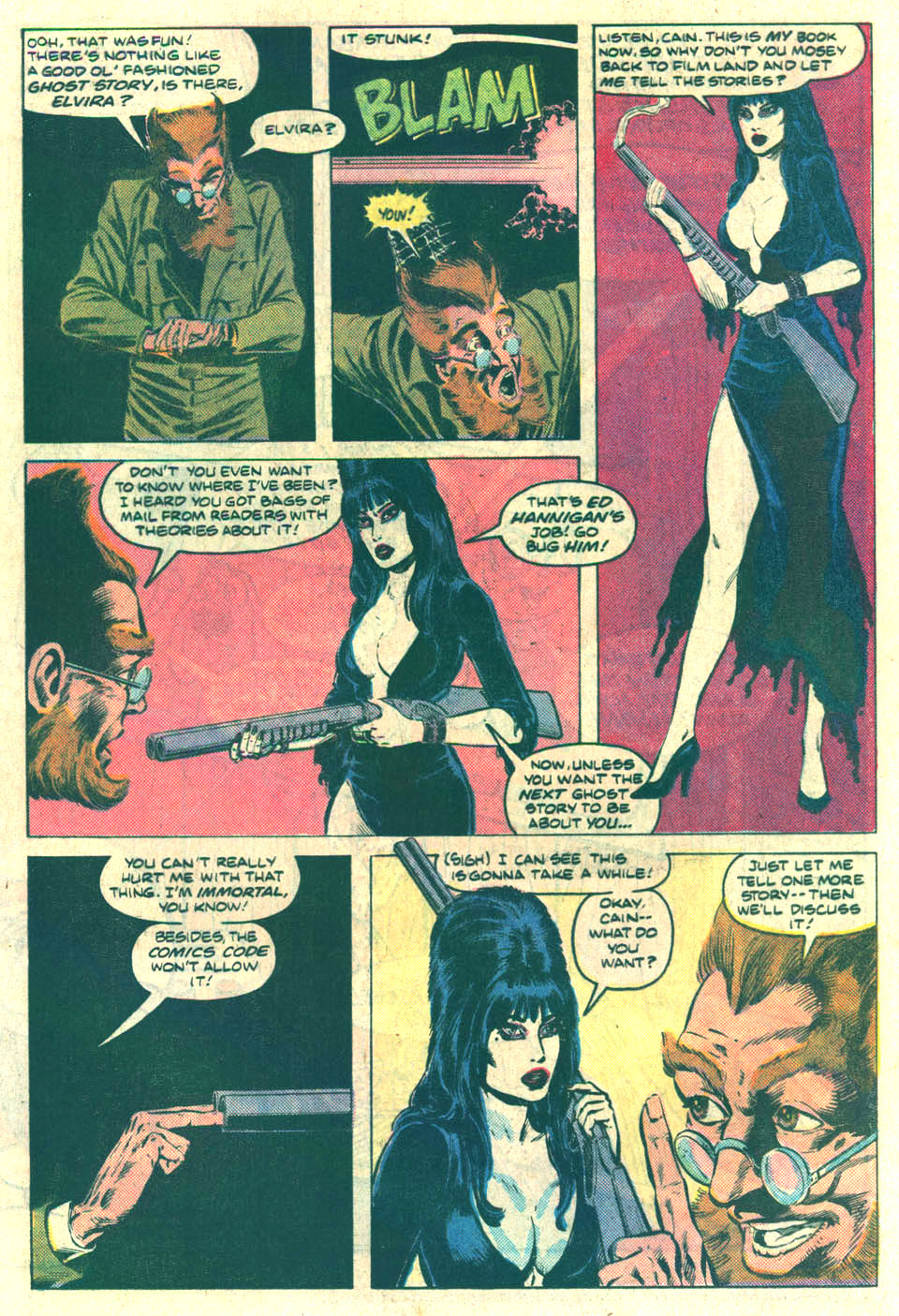 Elvira's House of Mystery Issue #10 #11 - English 13