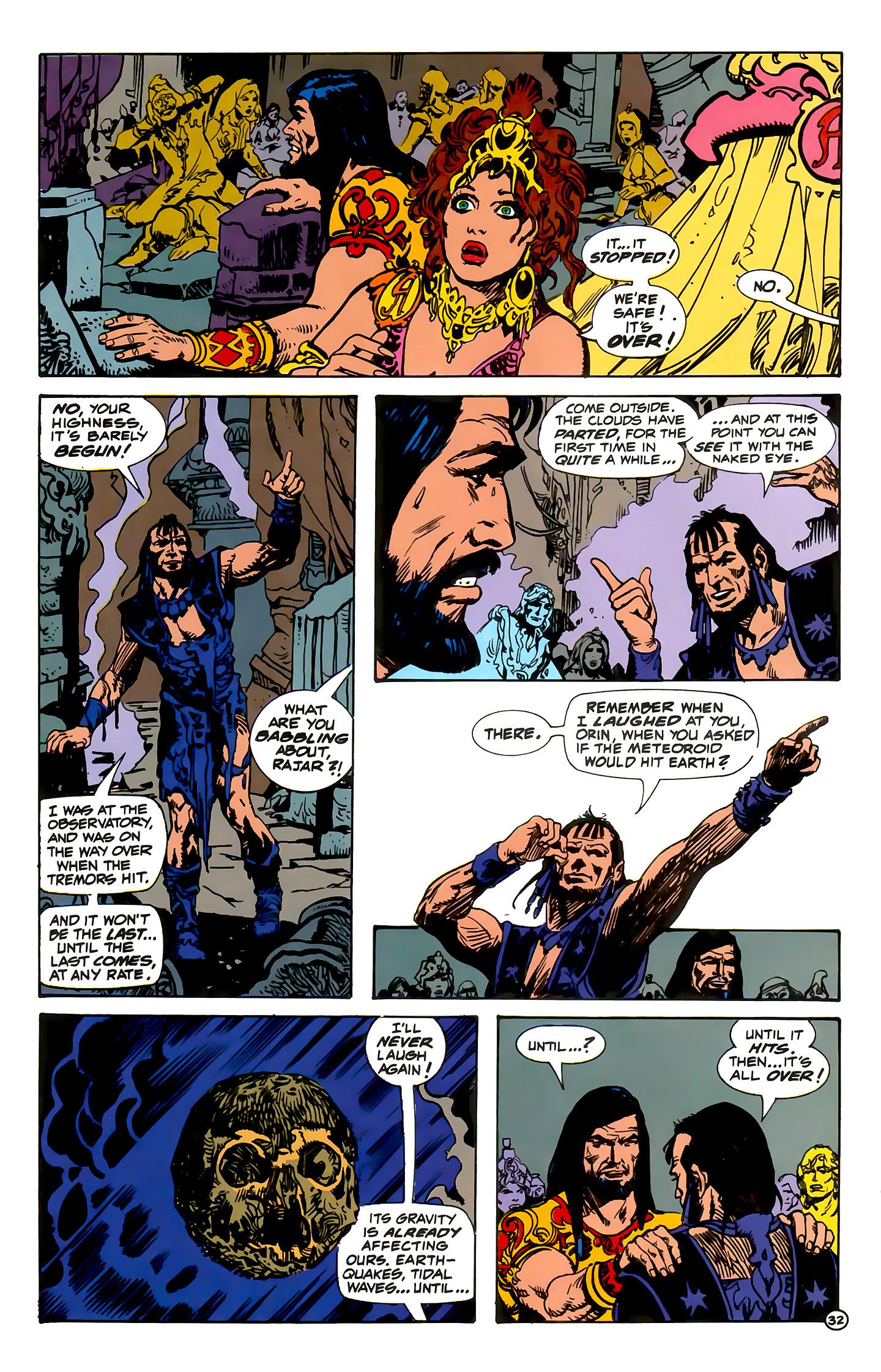 Read online Atlantis Chronicles comic -  Issue #1 - 32