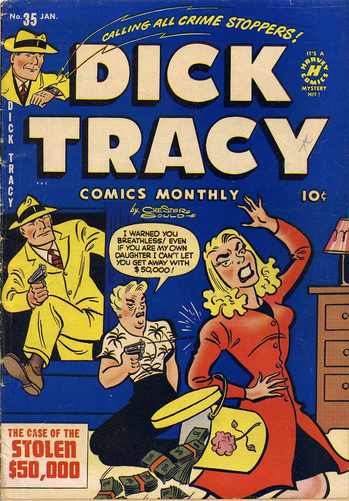 Dick Tracy (1950) 35 Page 1