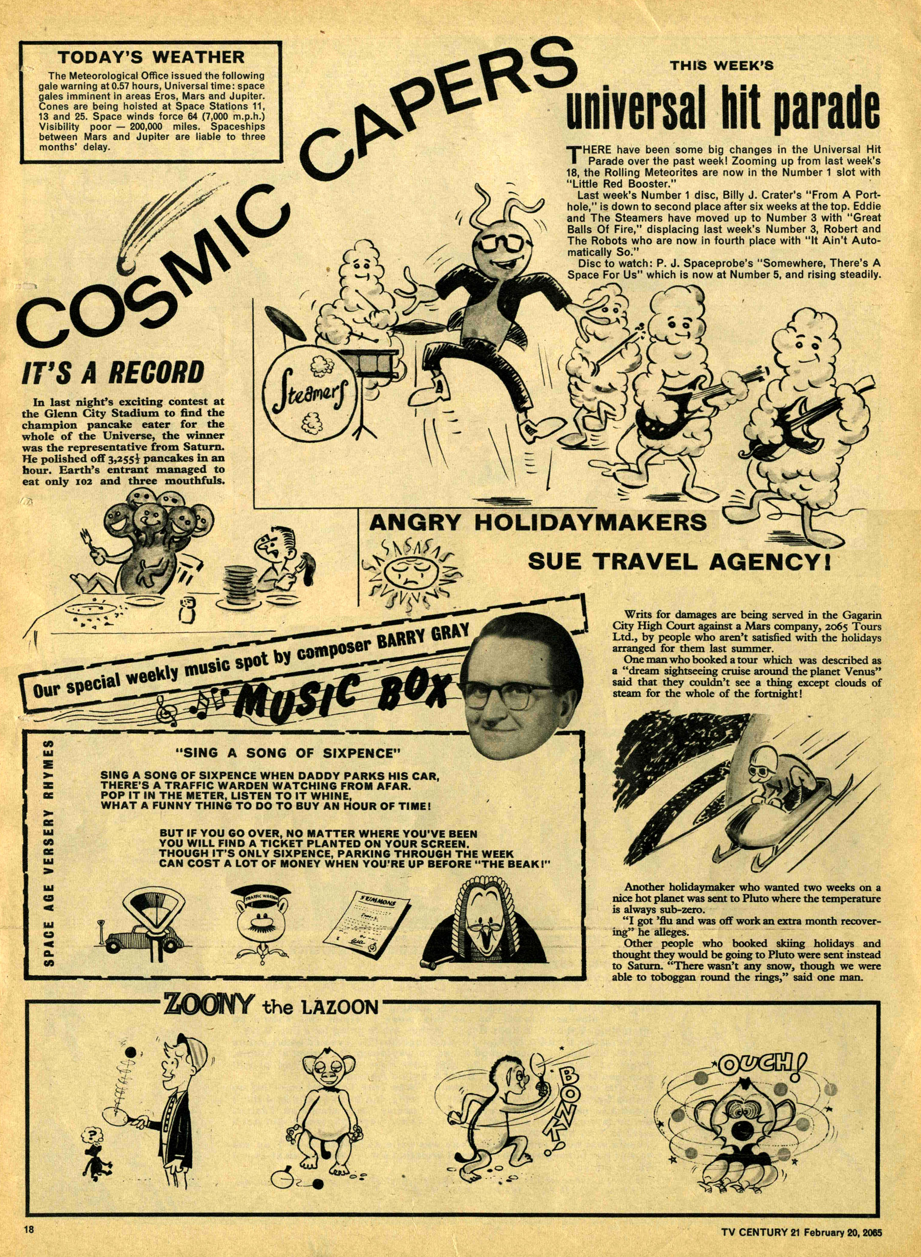 Read online TV Century 21 (TV 21) comic -  Issue #5 - 17