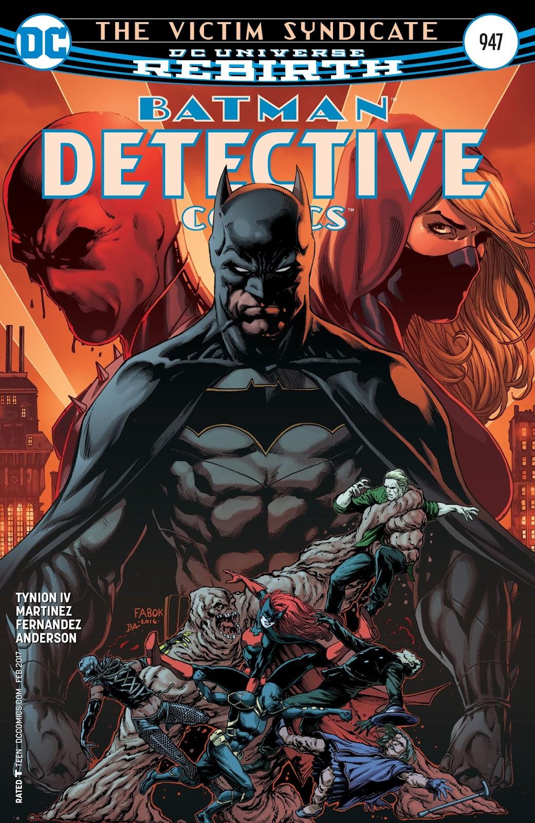 Detective Comics (1937) 947 Page 1