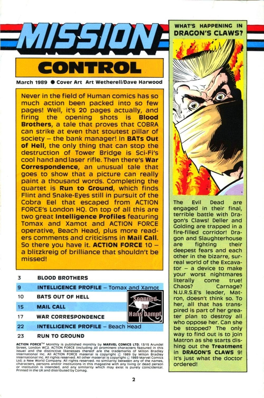 G.I. Joe European Missions issue 10 - Page 2