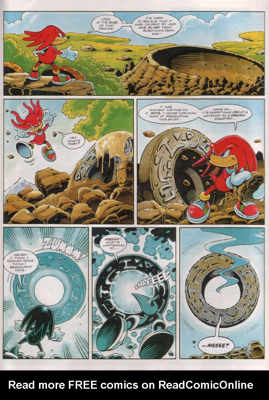 Read online Sonic the Comic comic -  Issue #53 - 20