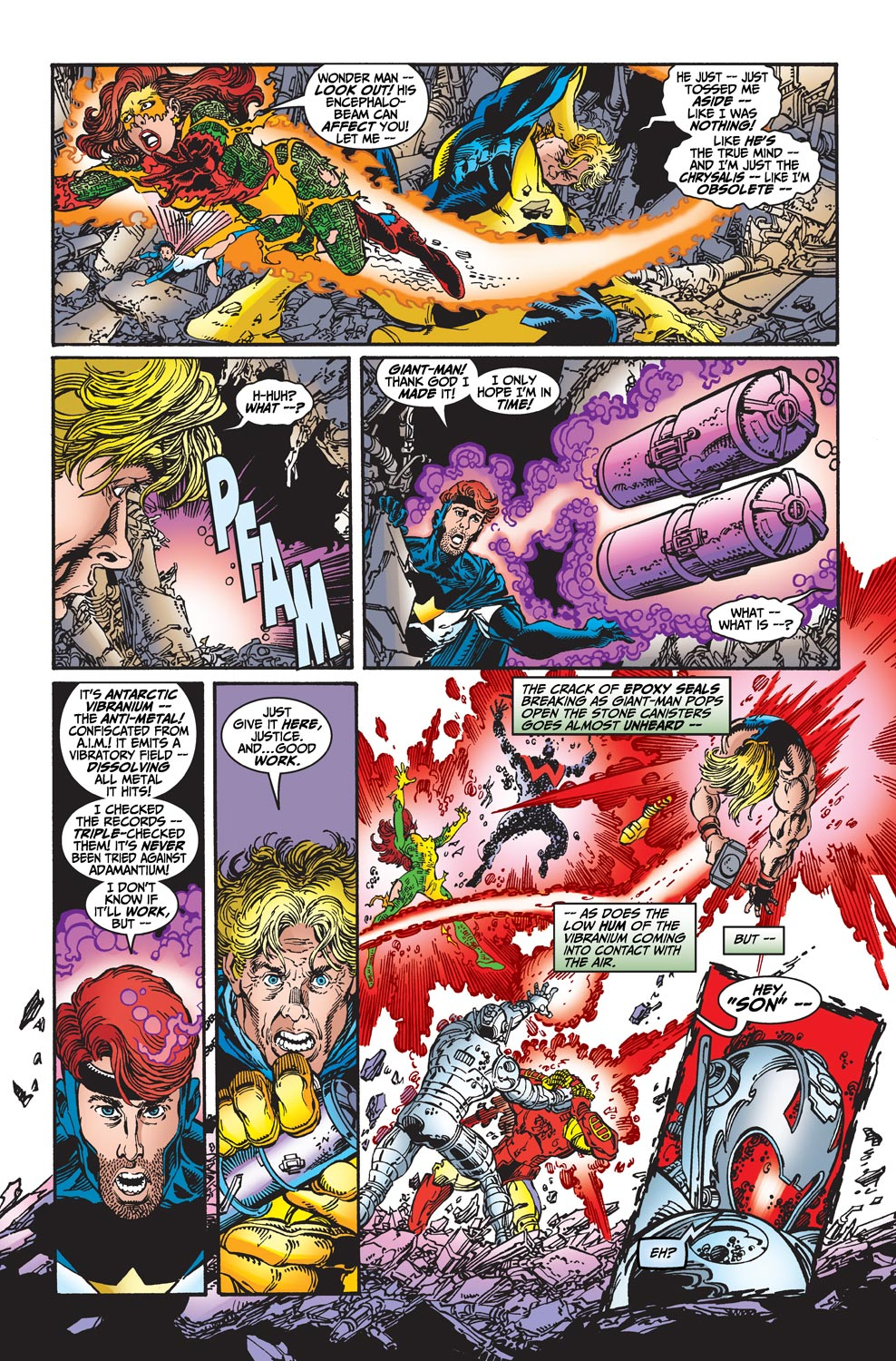 Read online Avengers (1998) comic -  Issue #22 - 18