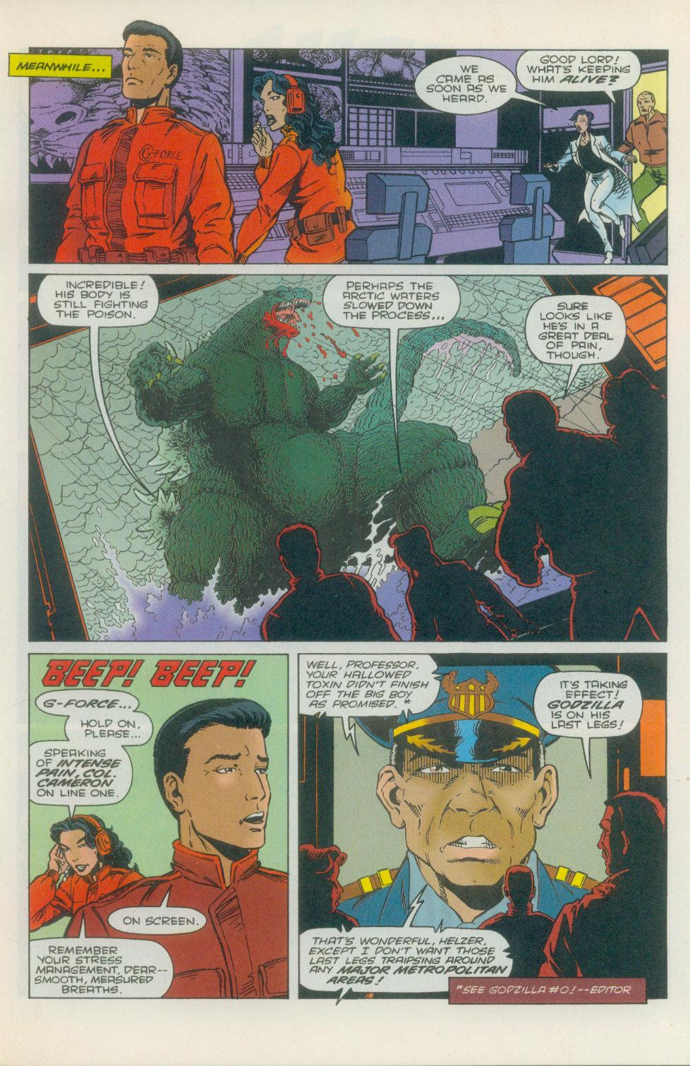 Godzilla (1995) Issue #1 #2 - English 10