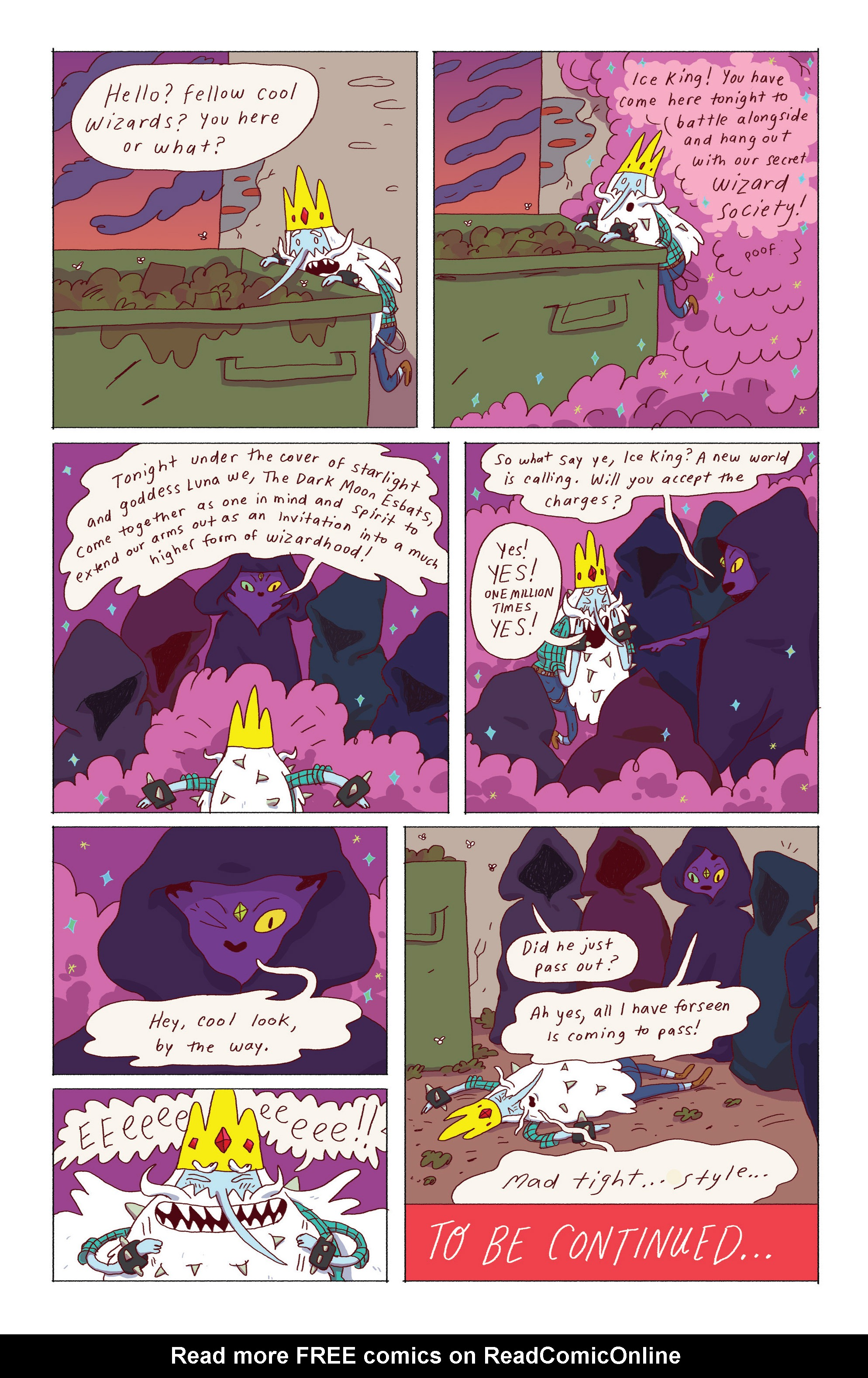 Read online Adventure Time: Ice King comic -  Issue #2 - 25