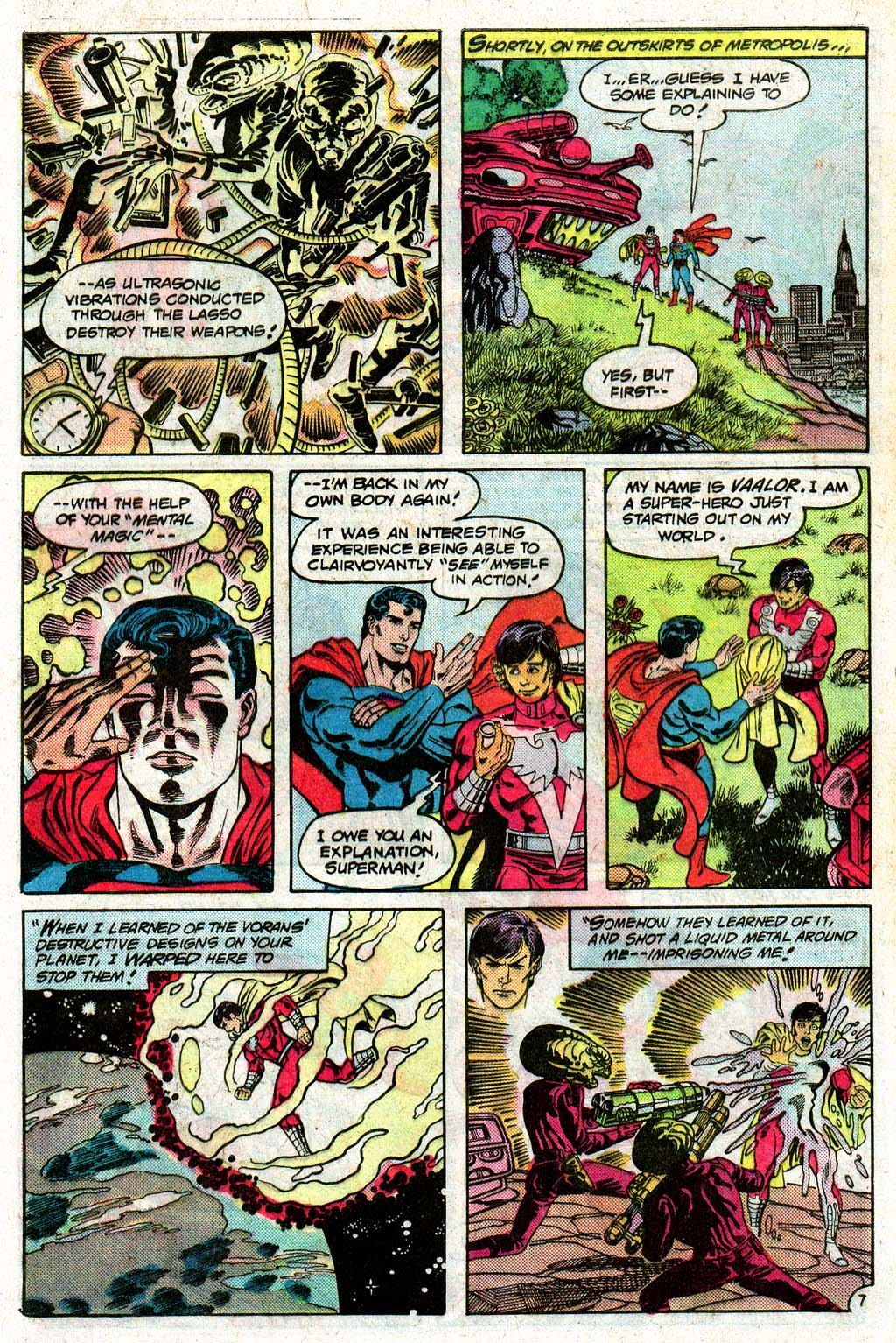 Read online Action Comics (1938) comic -  Issue #576 - 32