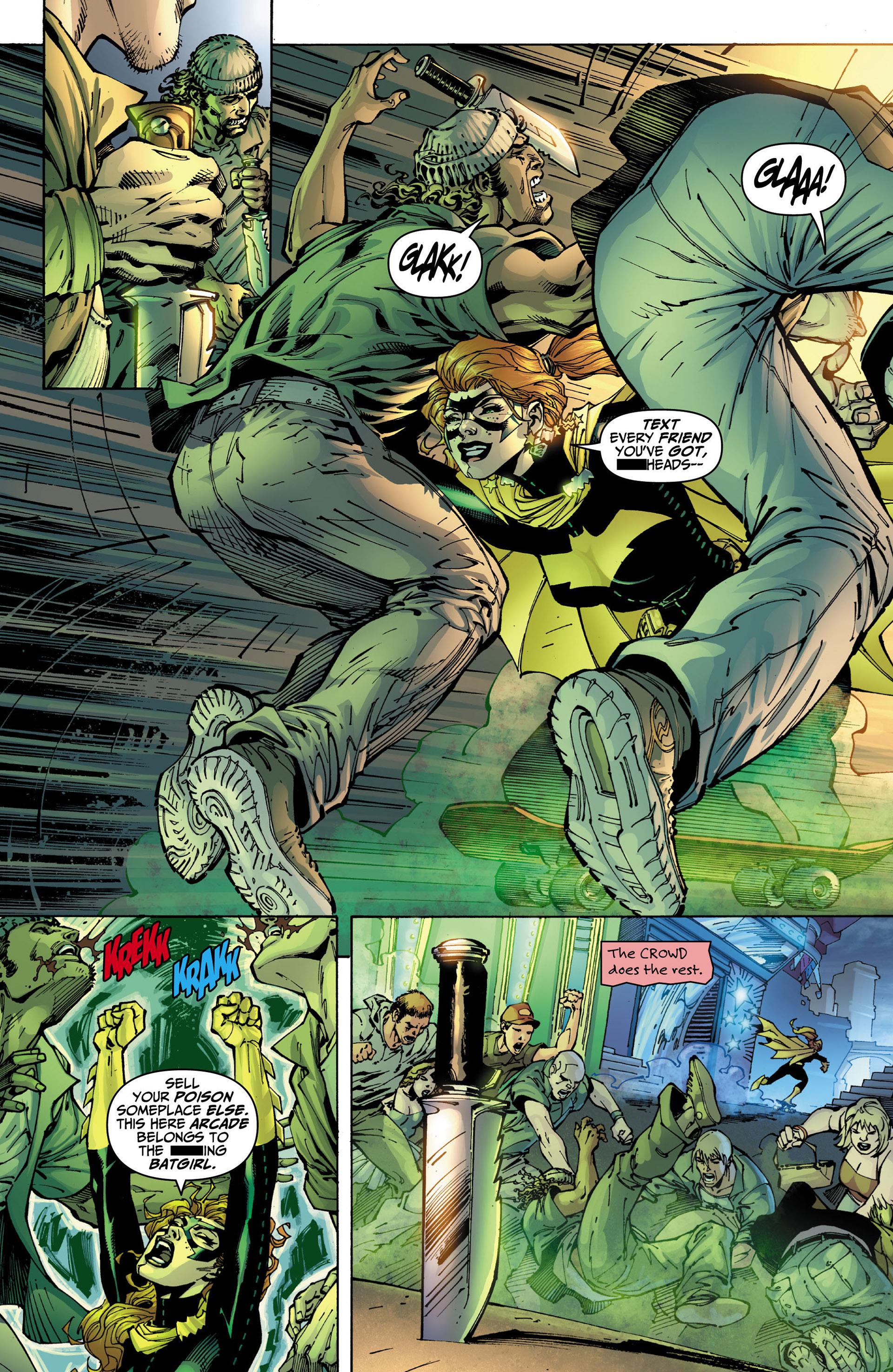 Read online All Star Batman & Robin, The Boy Wonder comic -  Issue #10 - 14