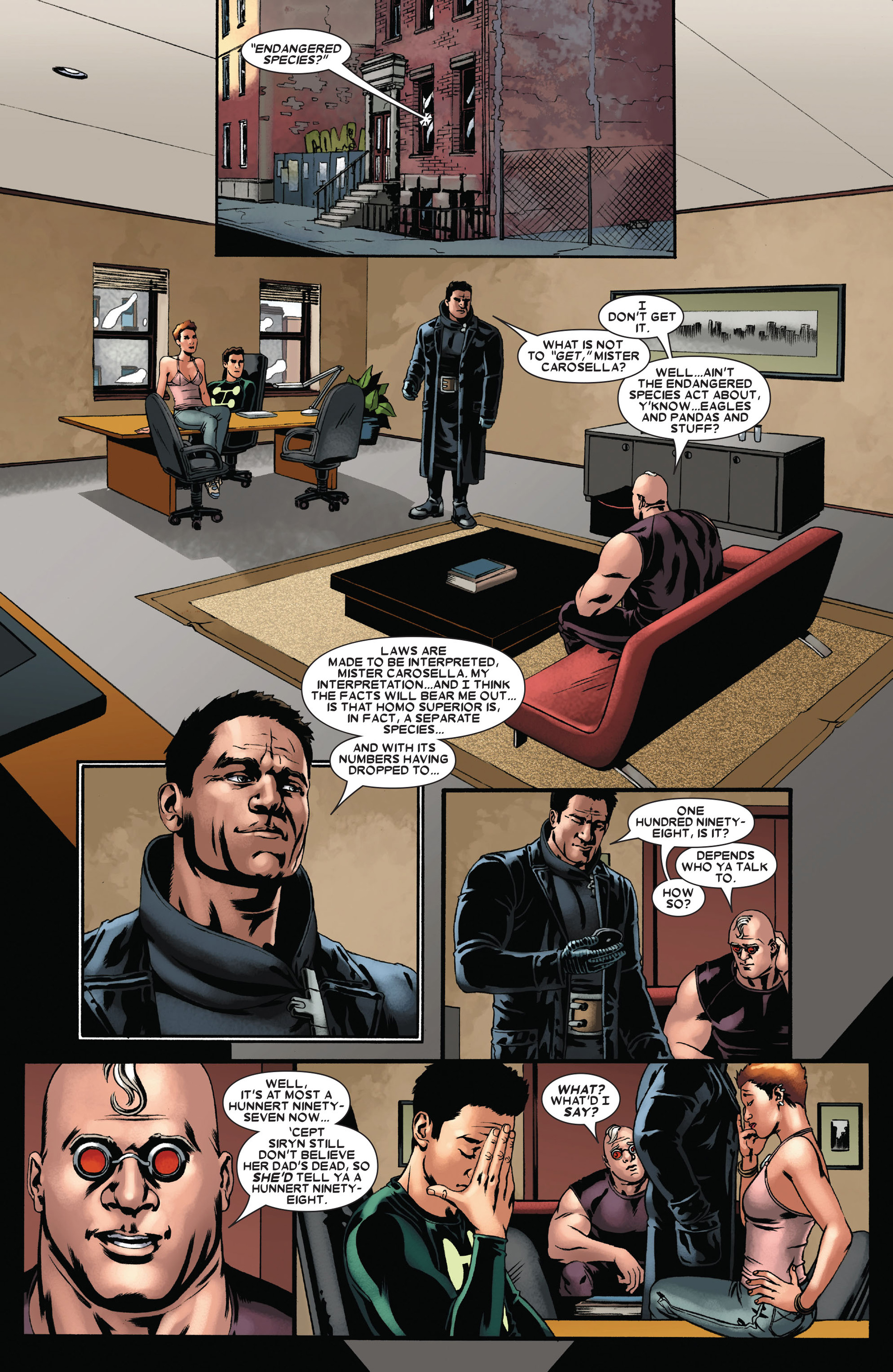 Read online X-Factor (2006) comic -  Issue #22 - 16