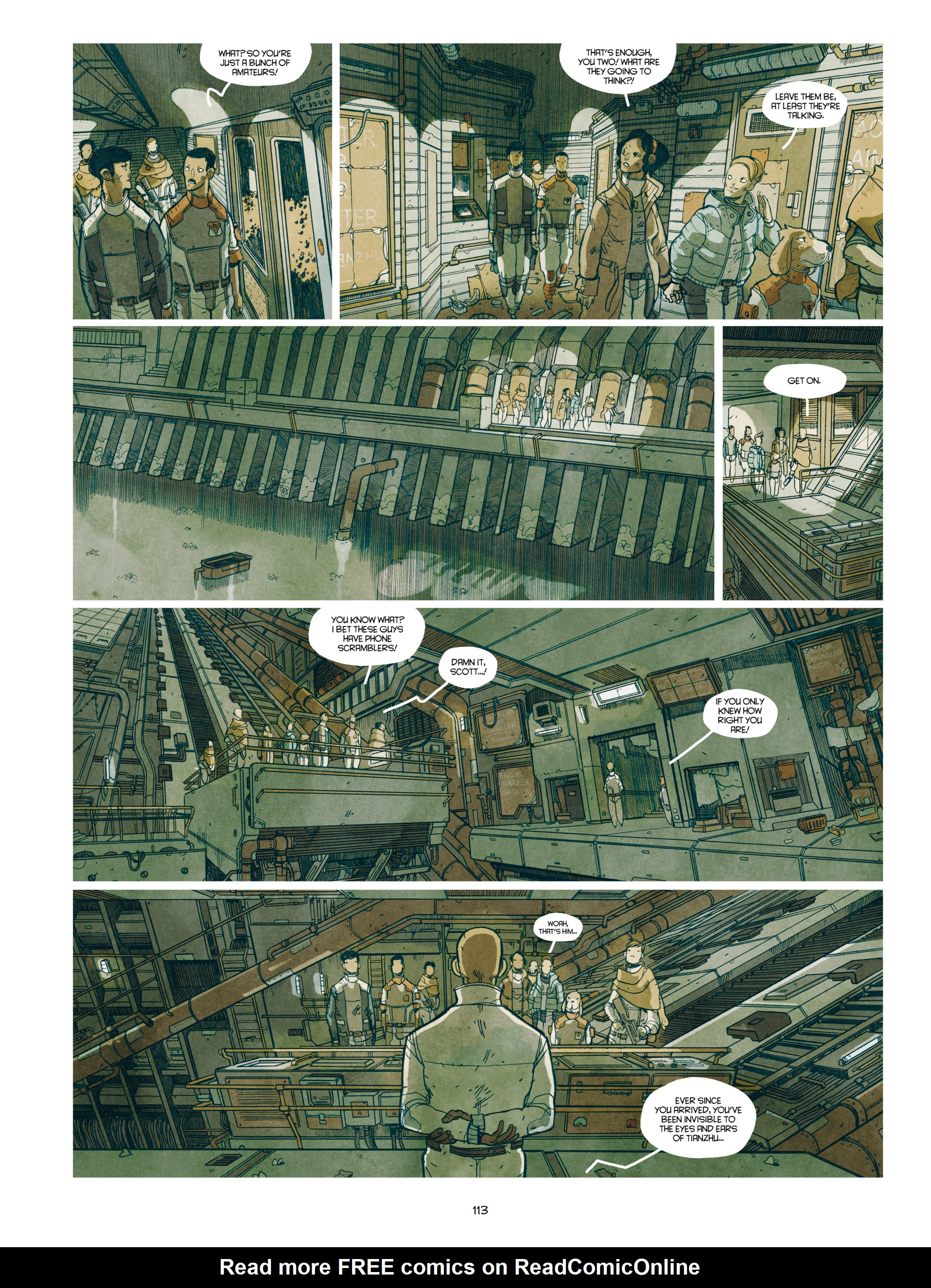 Read online Shangri-La comic -  Issue # Full - 114