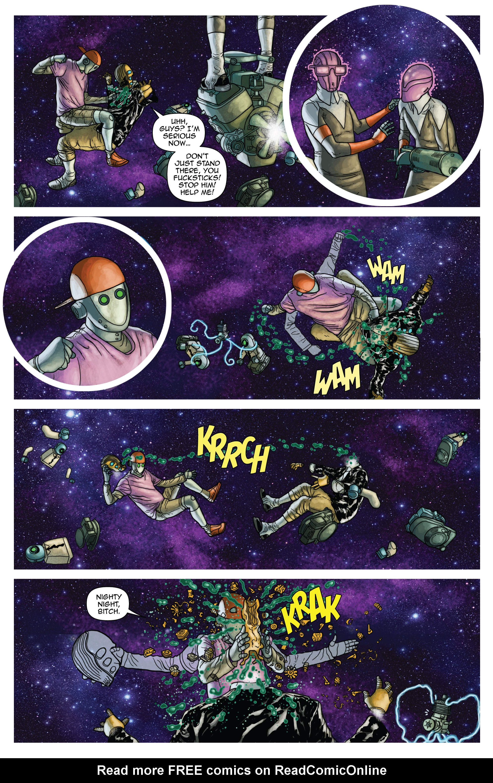 Read online D4VEocracy comic -  Issue #4 - 19