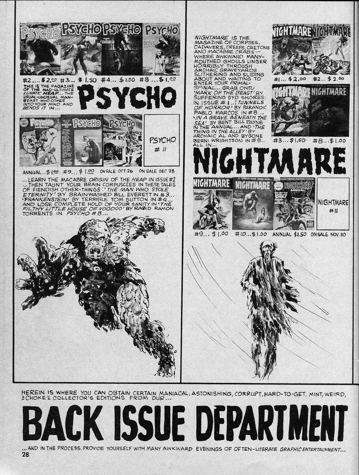 Nightmare (1970) issue 10 - Page 28