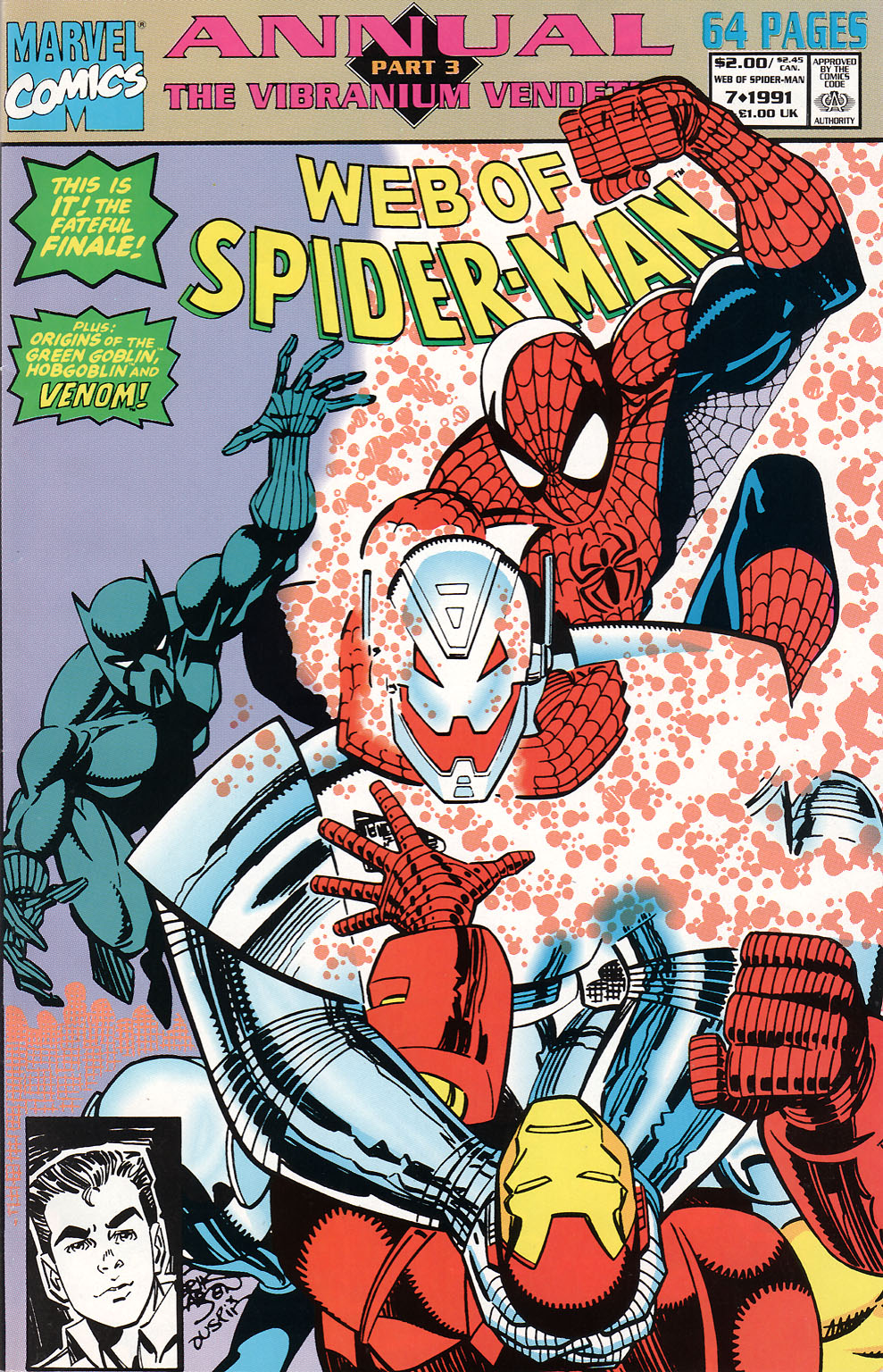 Web of Spider-Man (1985) _Annual 7 #7 - English 1