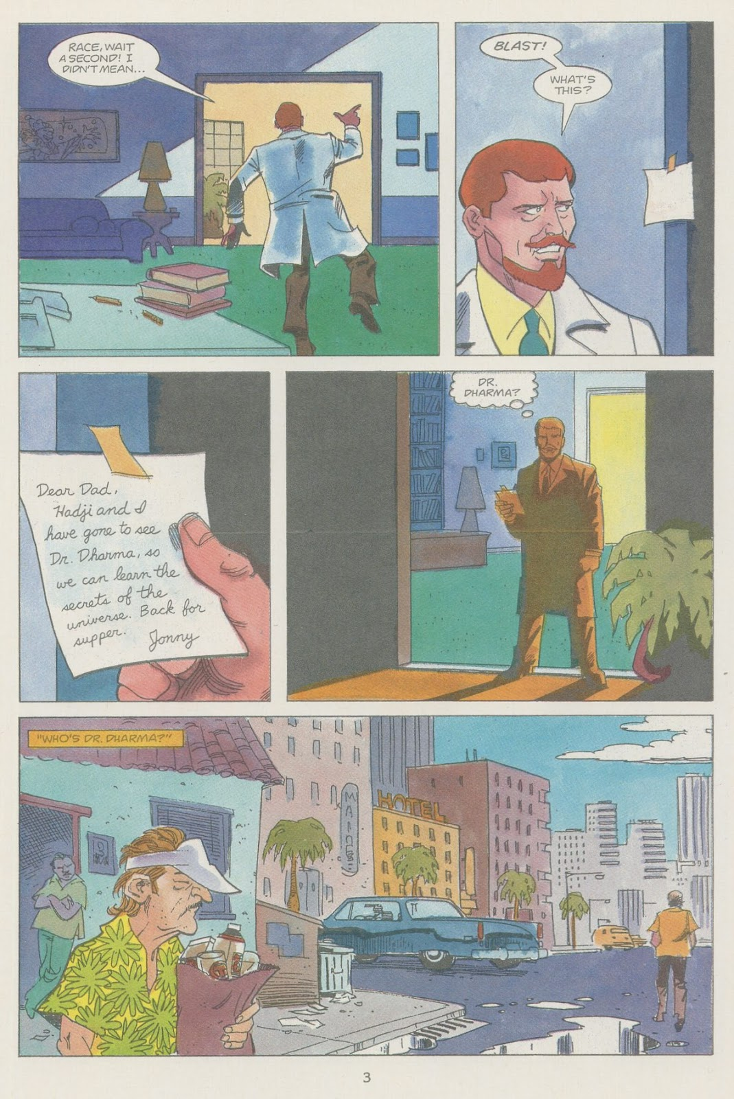 Jonny Quest (1986) issue 19 - Page 5