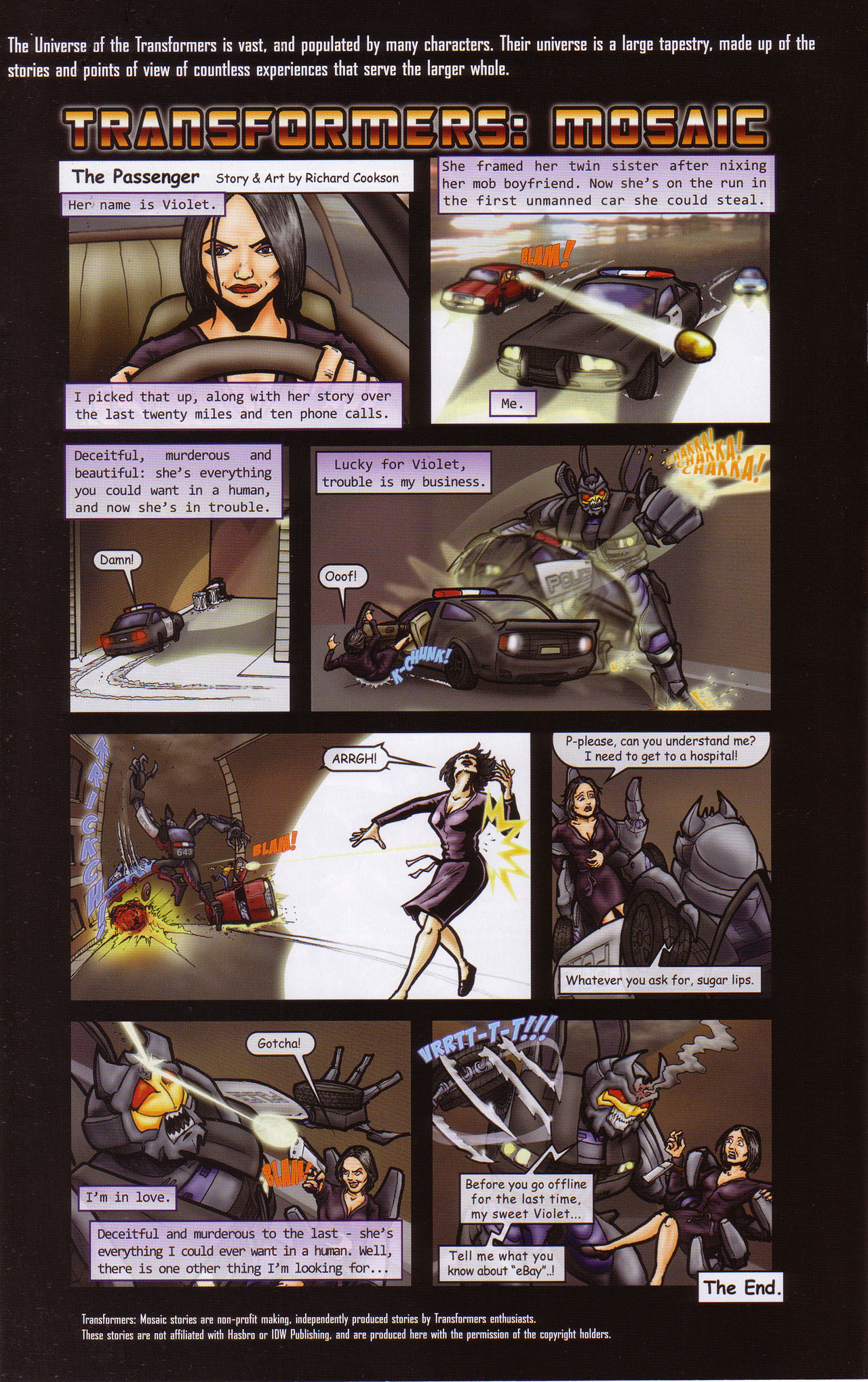 Read online Transformers: Saga of the Allspark comic -  Issue #1 - 23