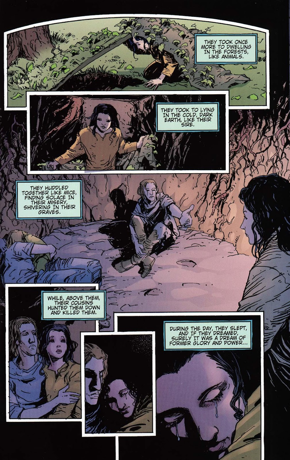 Read online Vampire the Masquerade comic -  Issue # Toreador - 33