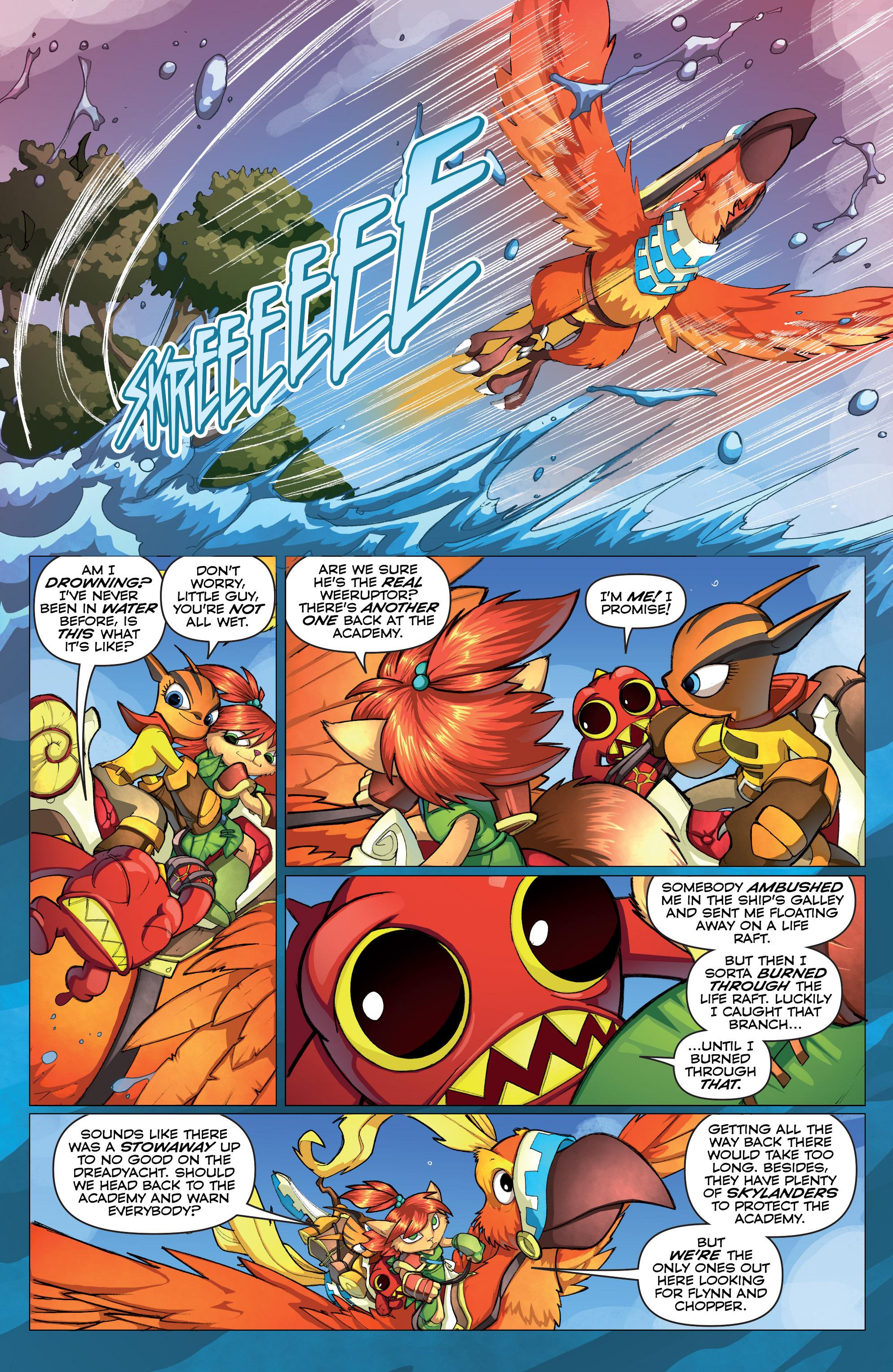 Read online Skylanders comic -  Issue #2 - 9