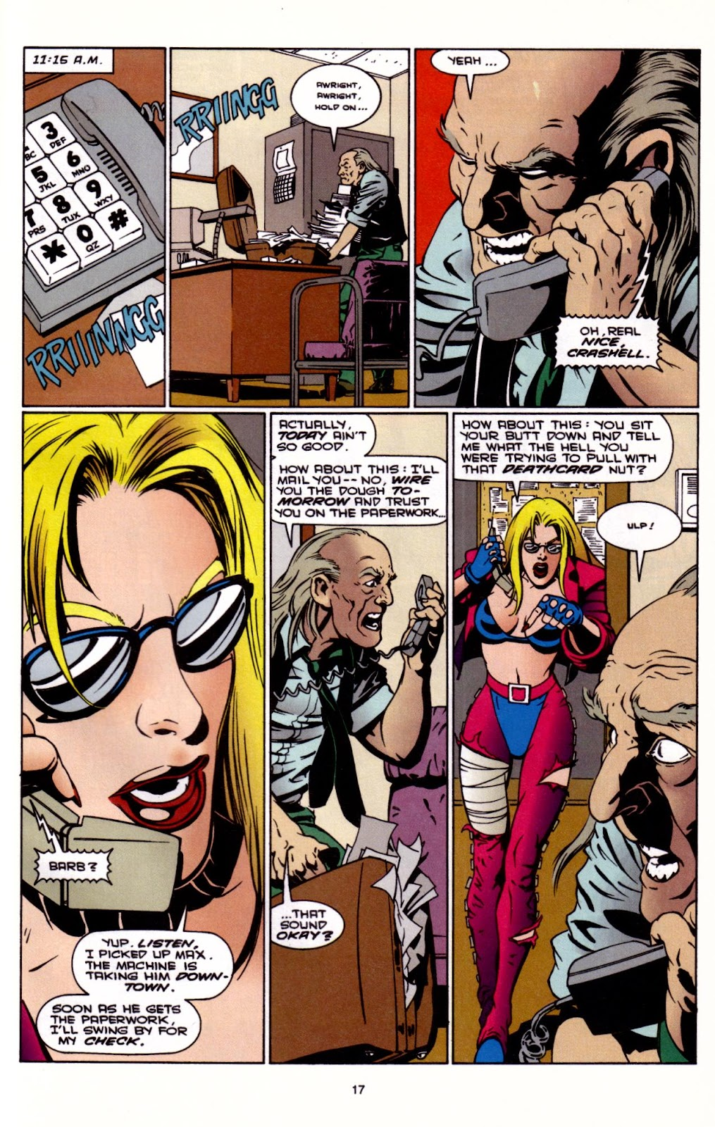 Barb Wire (1994) issue 3 - Page 18