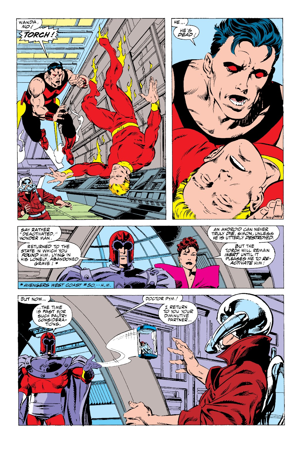 Avengers West Coast (1989) issue 57 - Page 20
