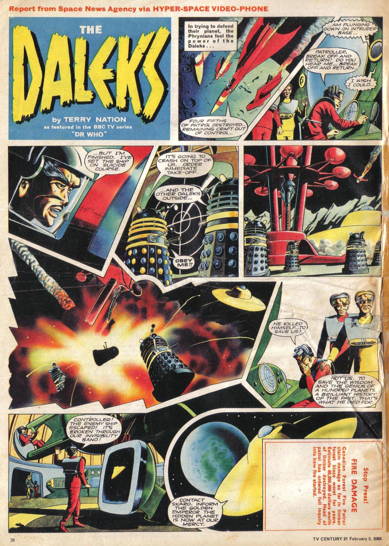Read online TV Century 21 (TV 21) comic -  Issue #55 - 19