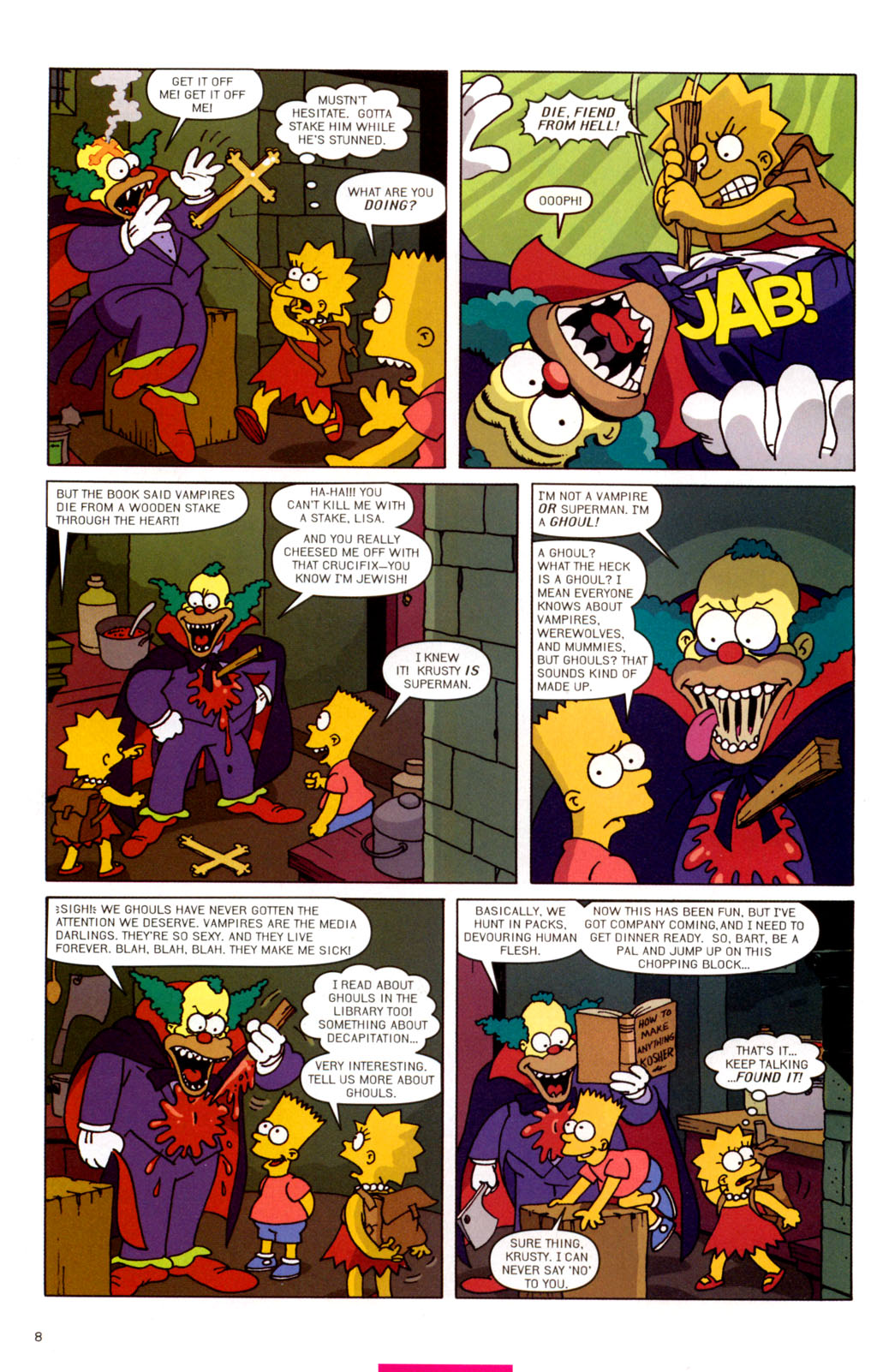 Read online Treehouse of Horror comic -  Issue #11 - 39