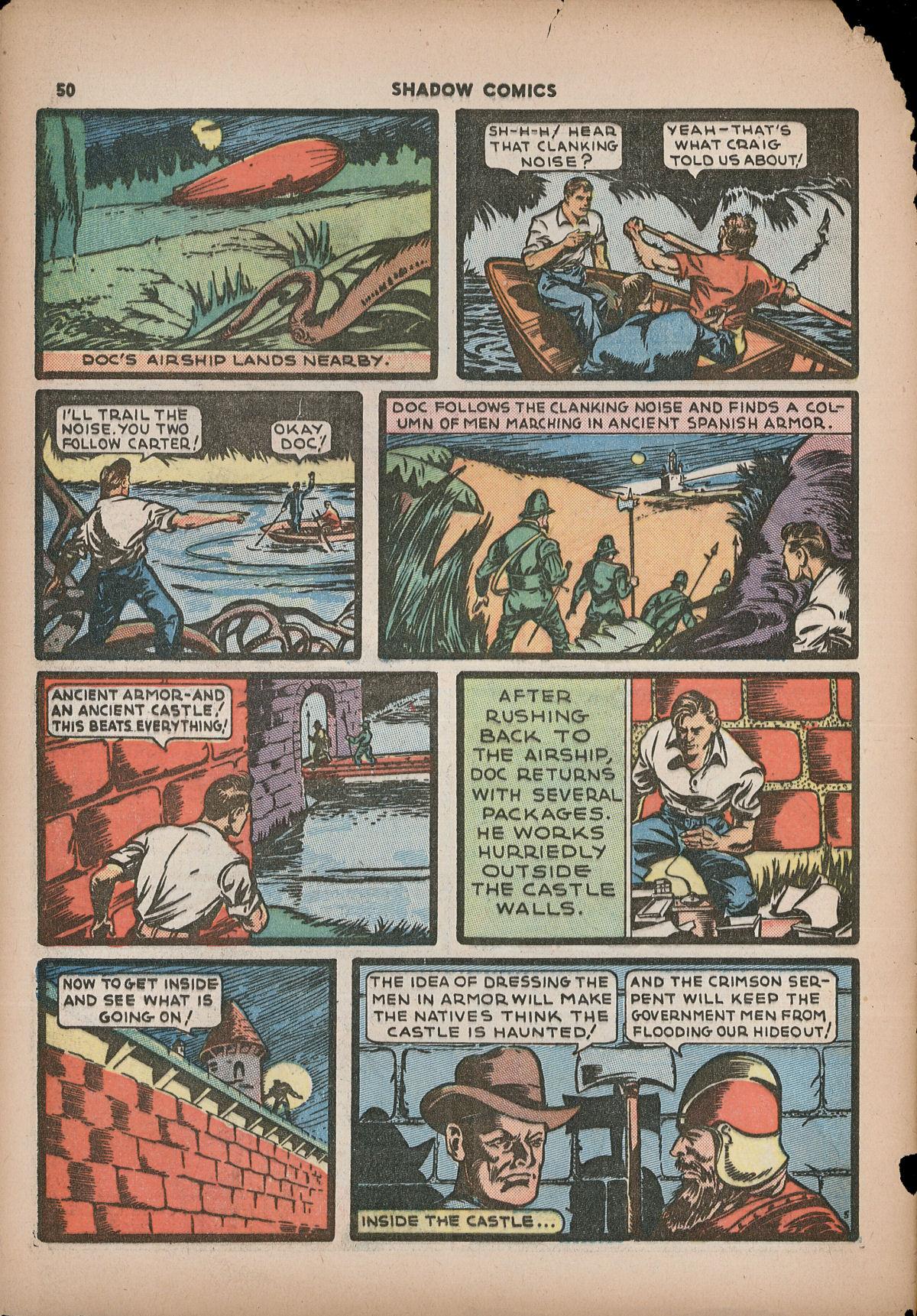 Read online Shadow Comics comic -  Issue #2 - 53