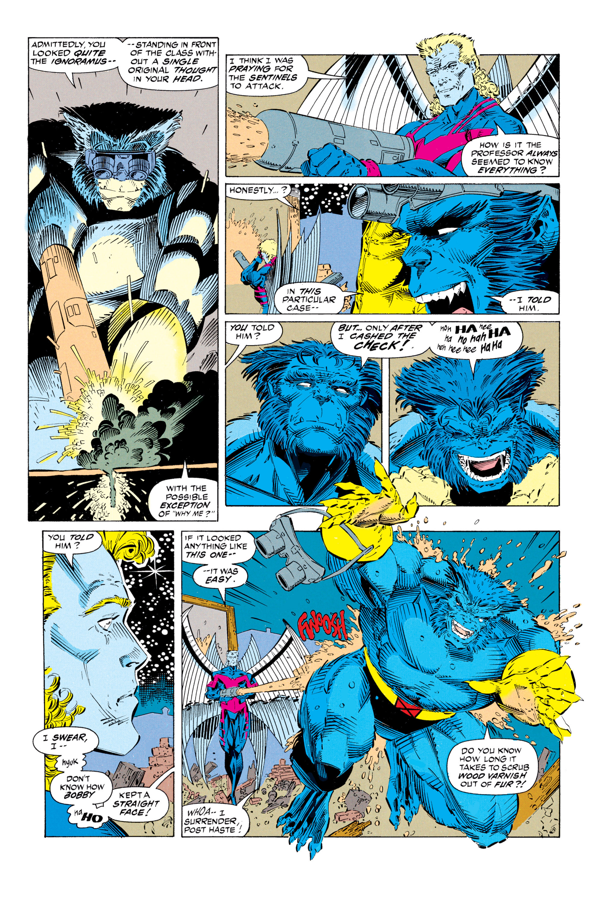 Read online Uncanny X-Men (1963) comic -  Issue #297 - 9