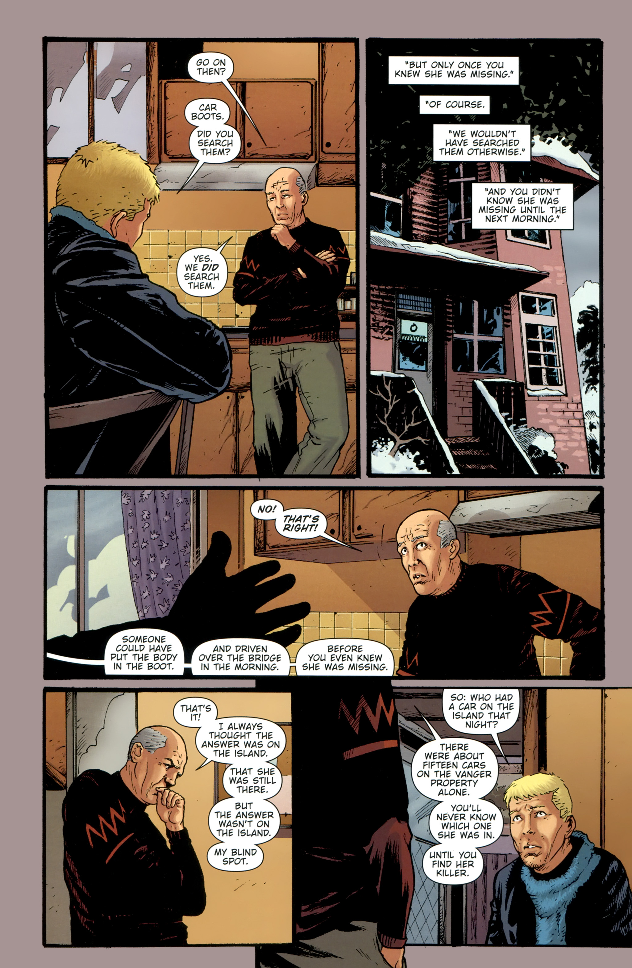 Read online The Girl With the Dragon Tattoo comic -  Issue # TPB 1 - 139