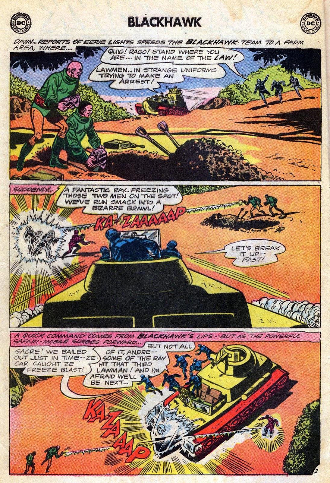 Blackhawk (1957) Issue #189 #82 - English 4