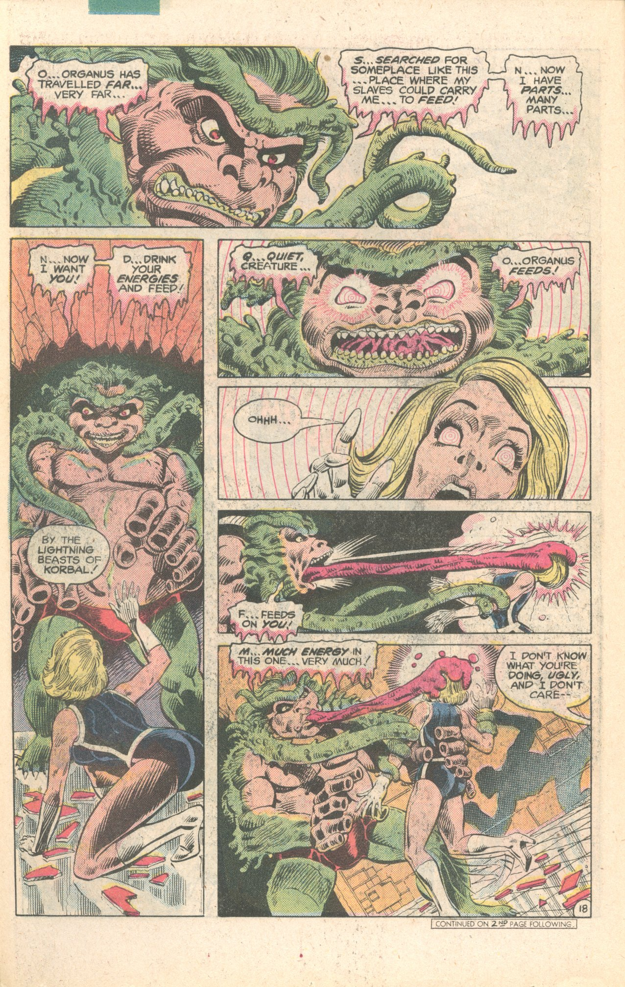 Legion of Super-Heroes (1980) 284 Page 18