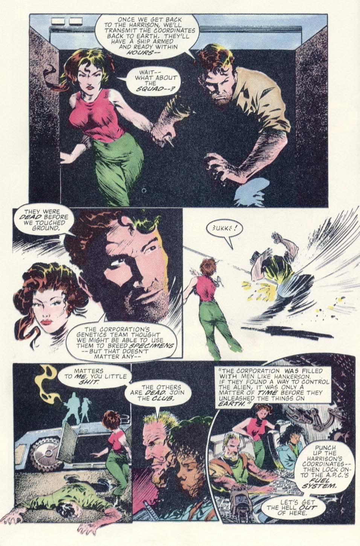 Read online Aliens: Earth War comic -  Issue #1 - 24