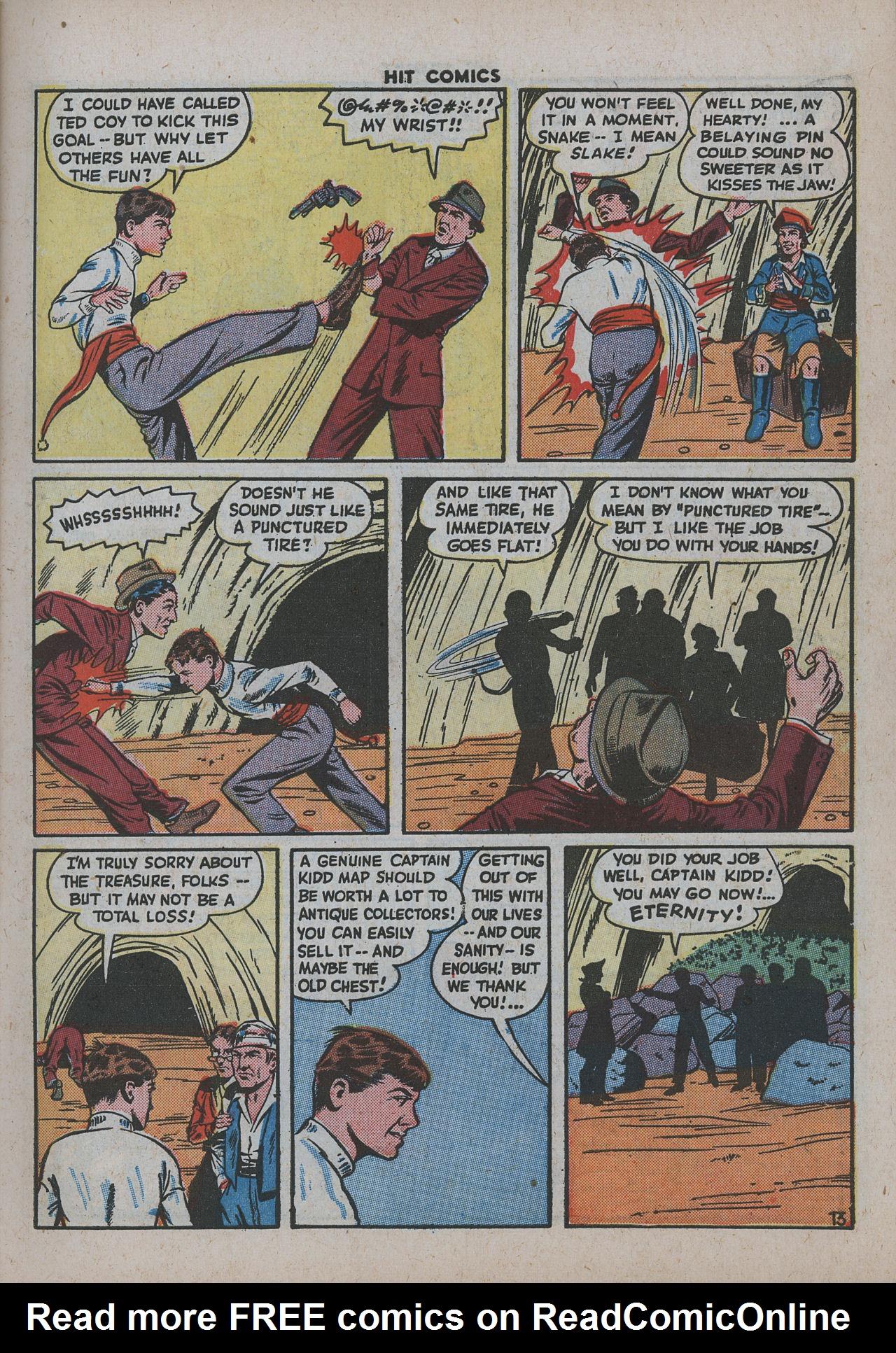 Read online Hit Comics comic -  Issue #38 - 18