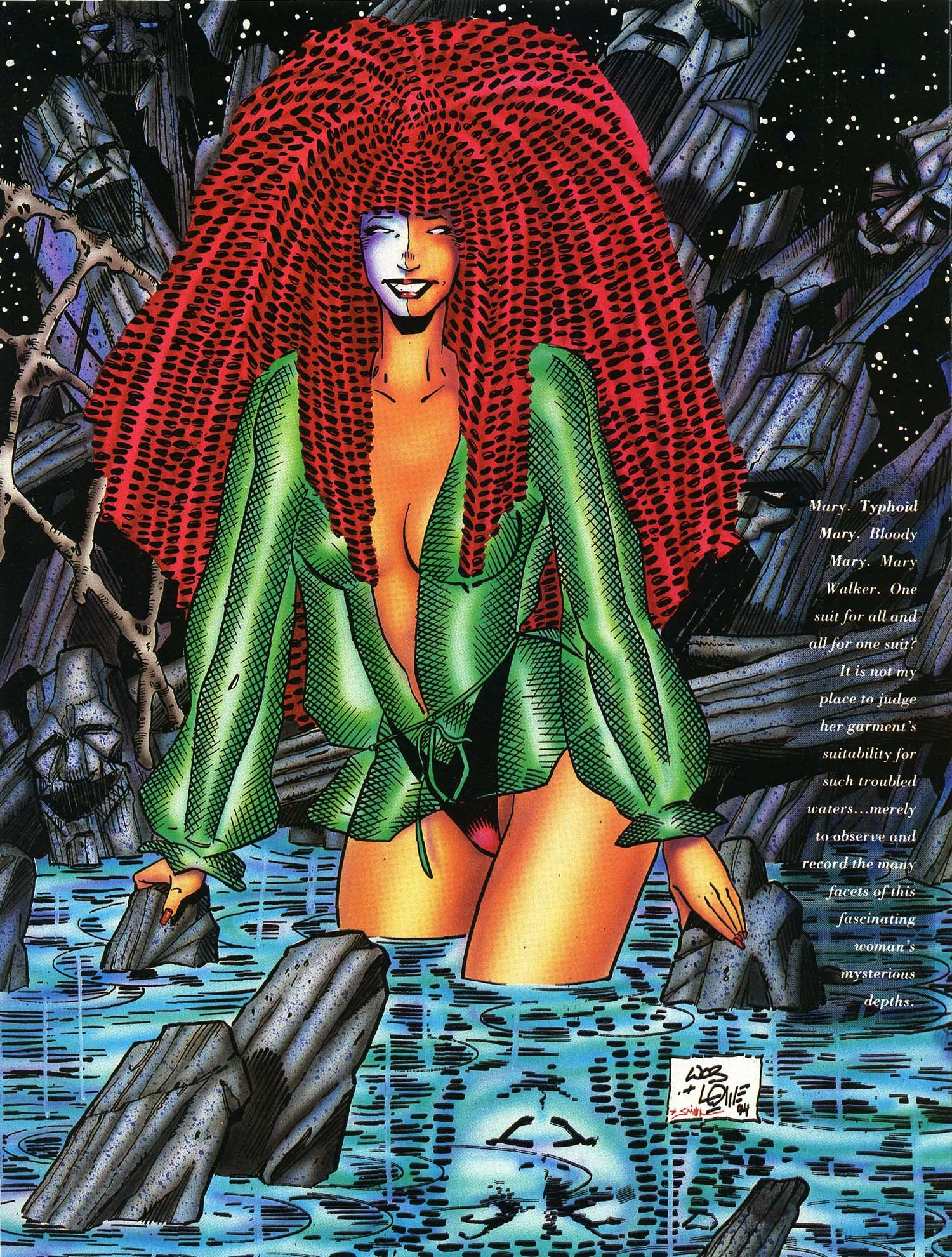 Read online Marvel Swimsuit Special comic -  Issue #3 - 7