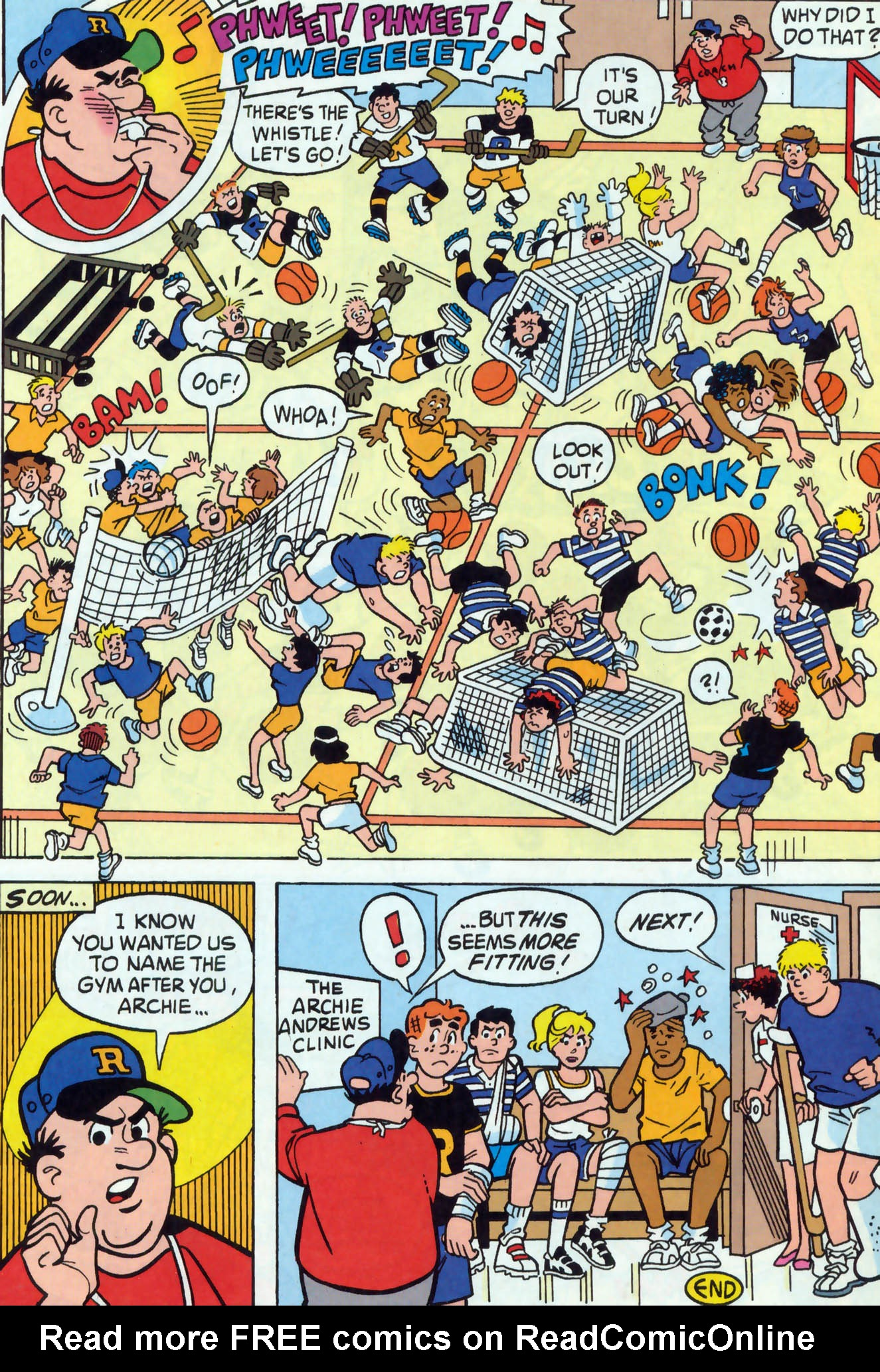 Read online Archie (1960) comic -  Issue #465 - 19