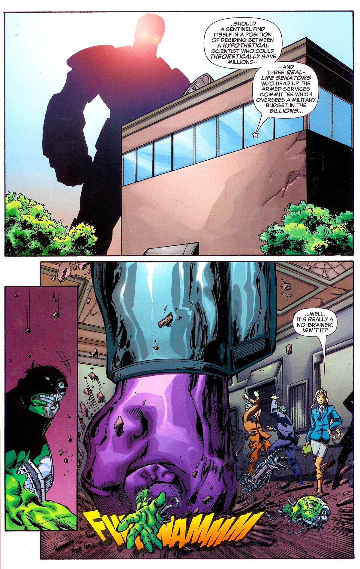 Read online Sentinel Squad O*N*E comic -  Issue #1 - 7